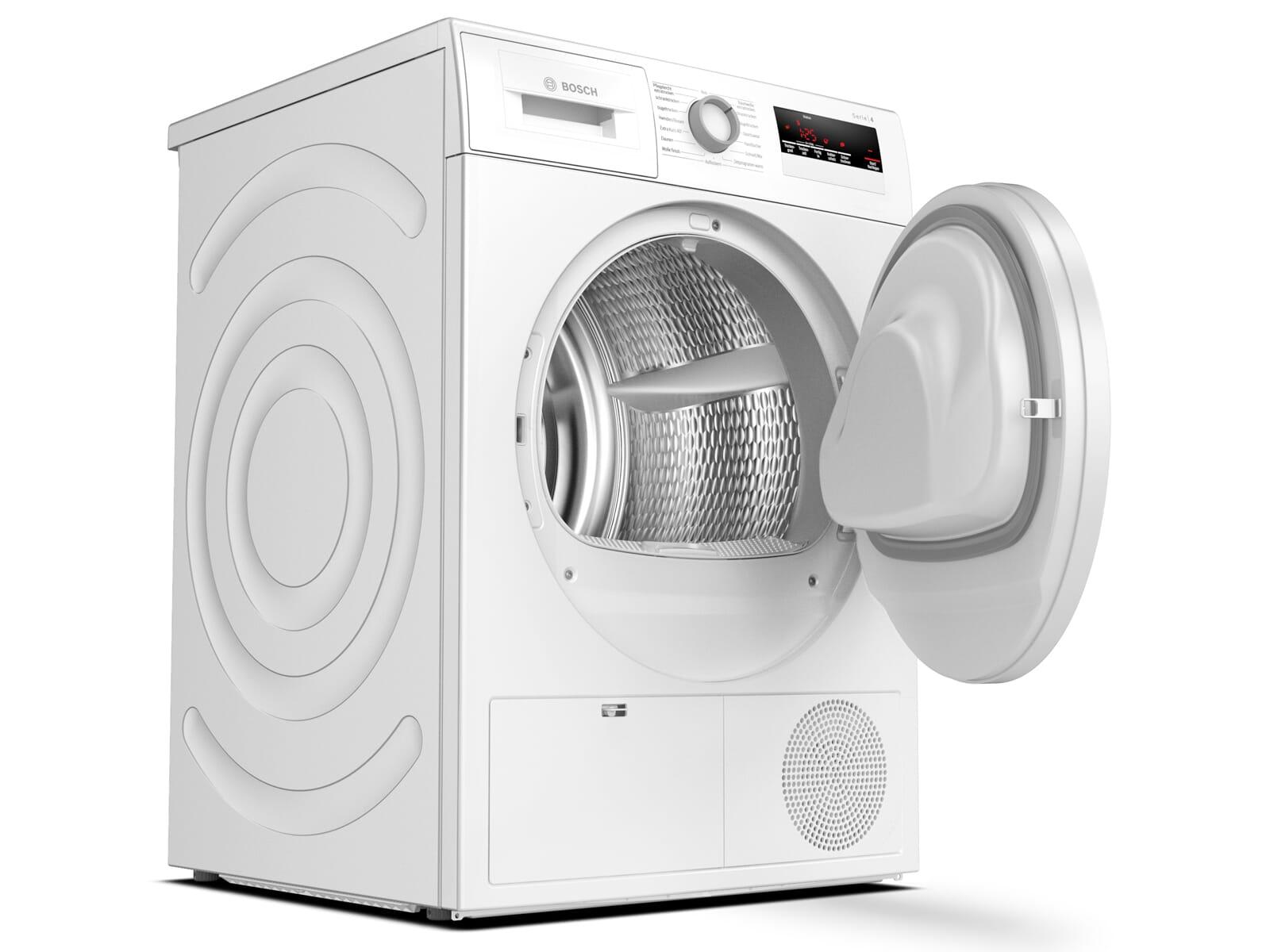 Bosch WTH83V00 Trockner Weiß
