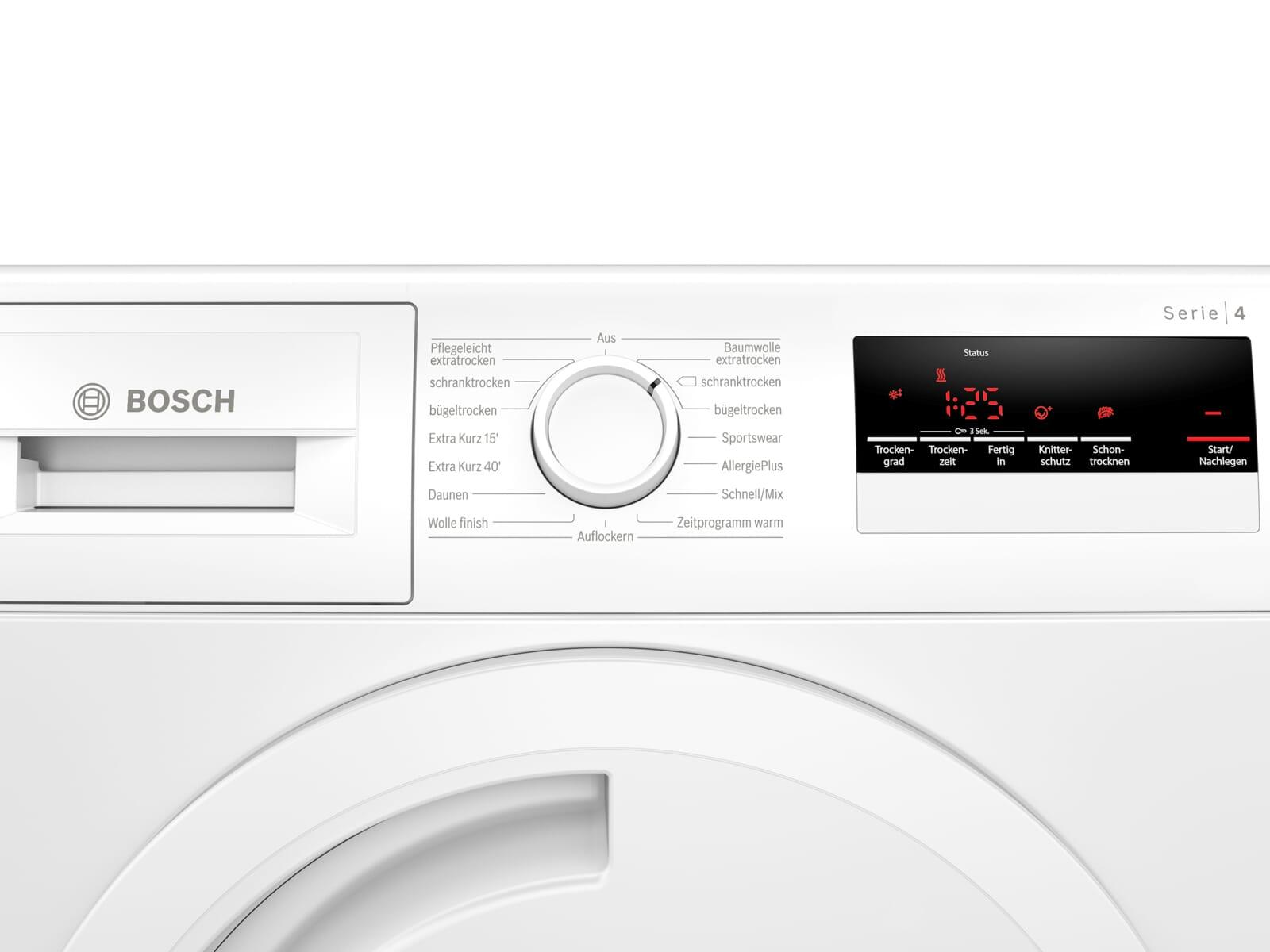 Bosch WTN83202 Trockner Weiß