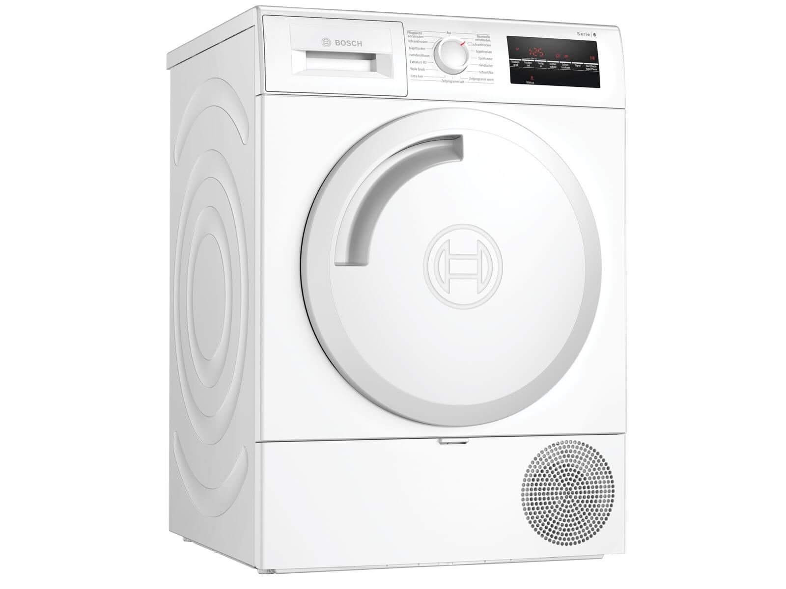 Bosch WTR854A0 Trockner Weiß