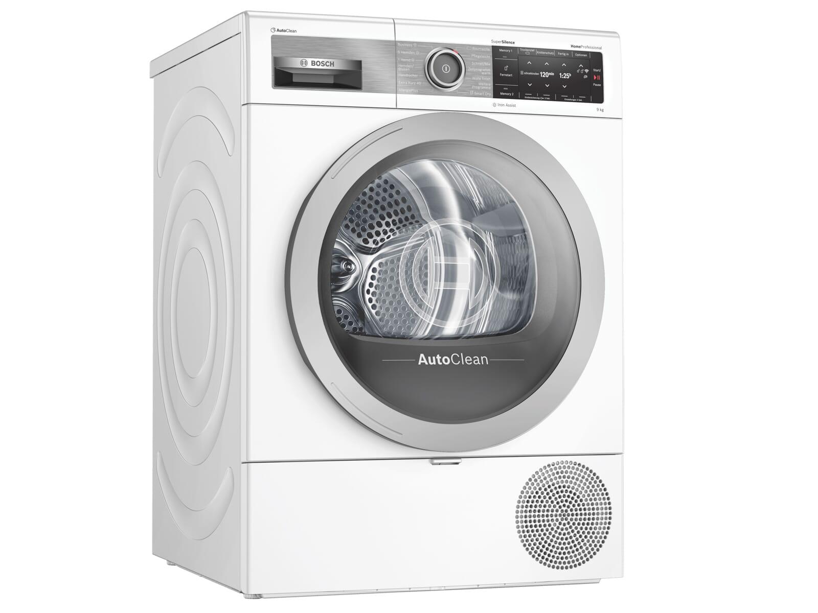 Bosch WTX87E40 Trockner Weiß