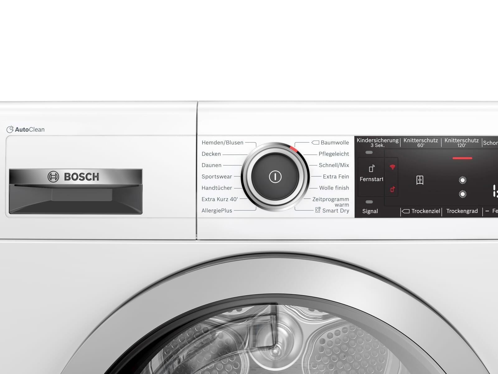 Bosch WTX87M20 Trockner Weiß