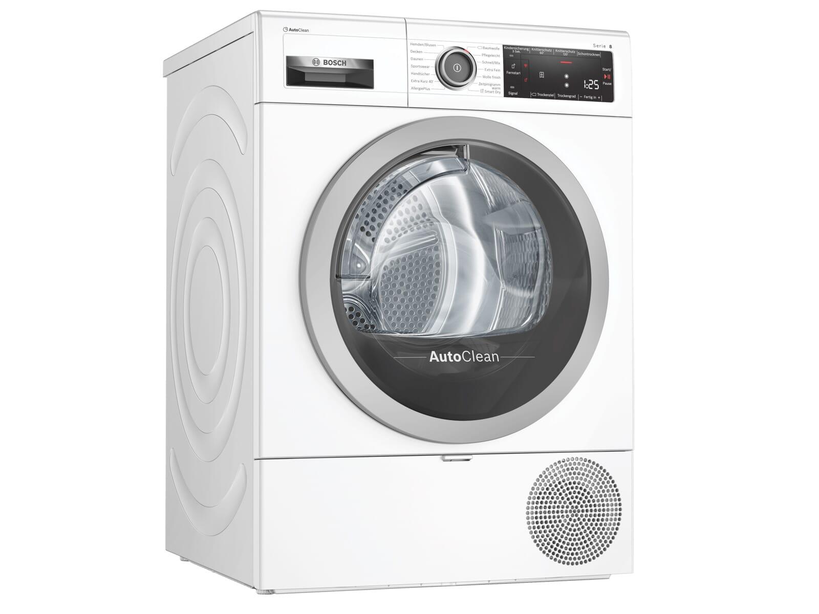 Bosch WTX87M40 Trockner Weiß