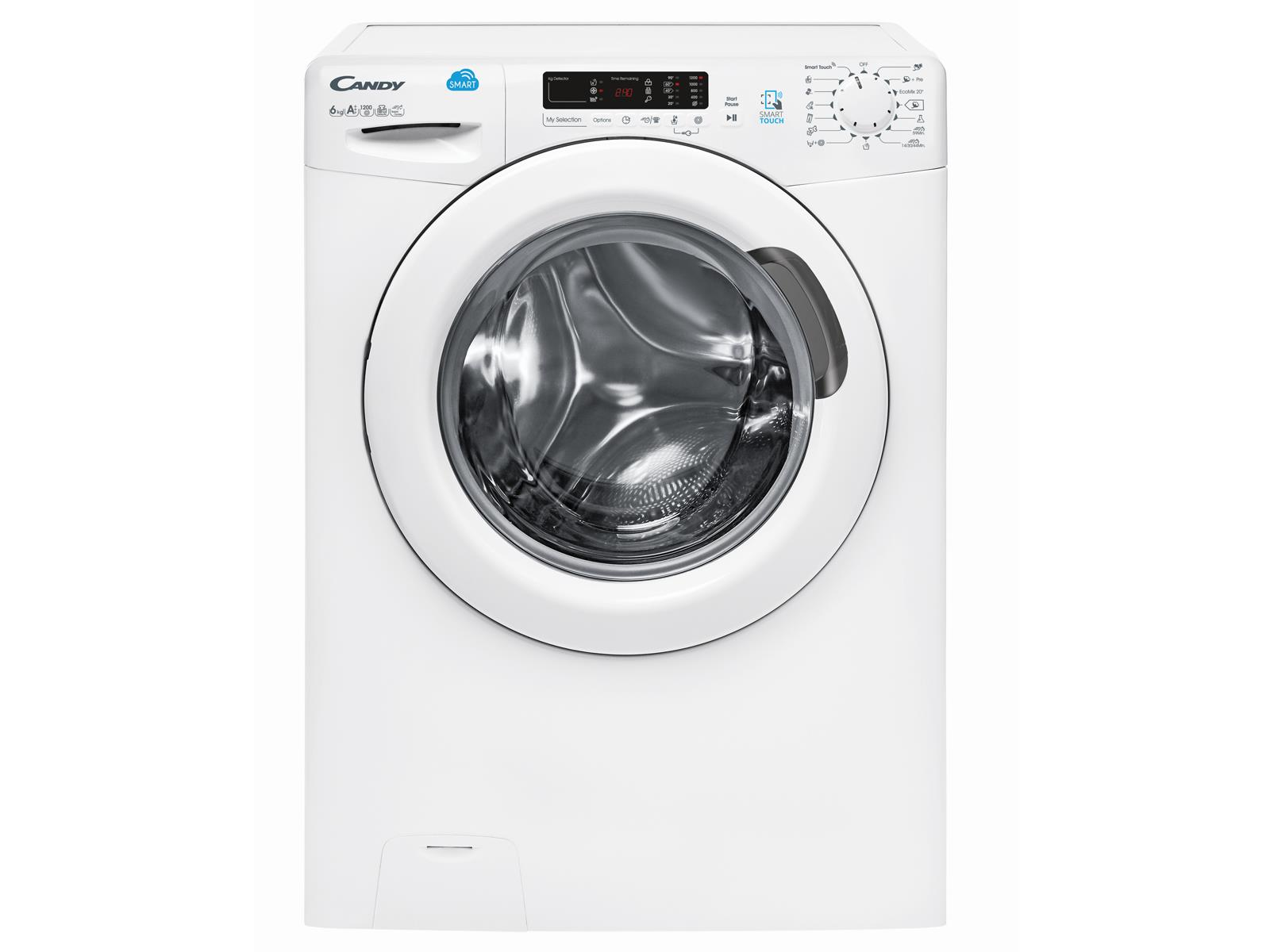 Candy CS41262D3/1-S Waschmaschine Weiß