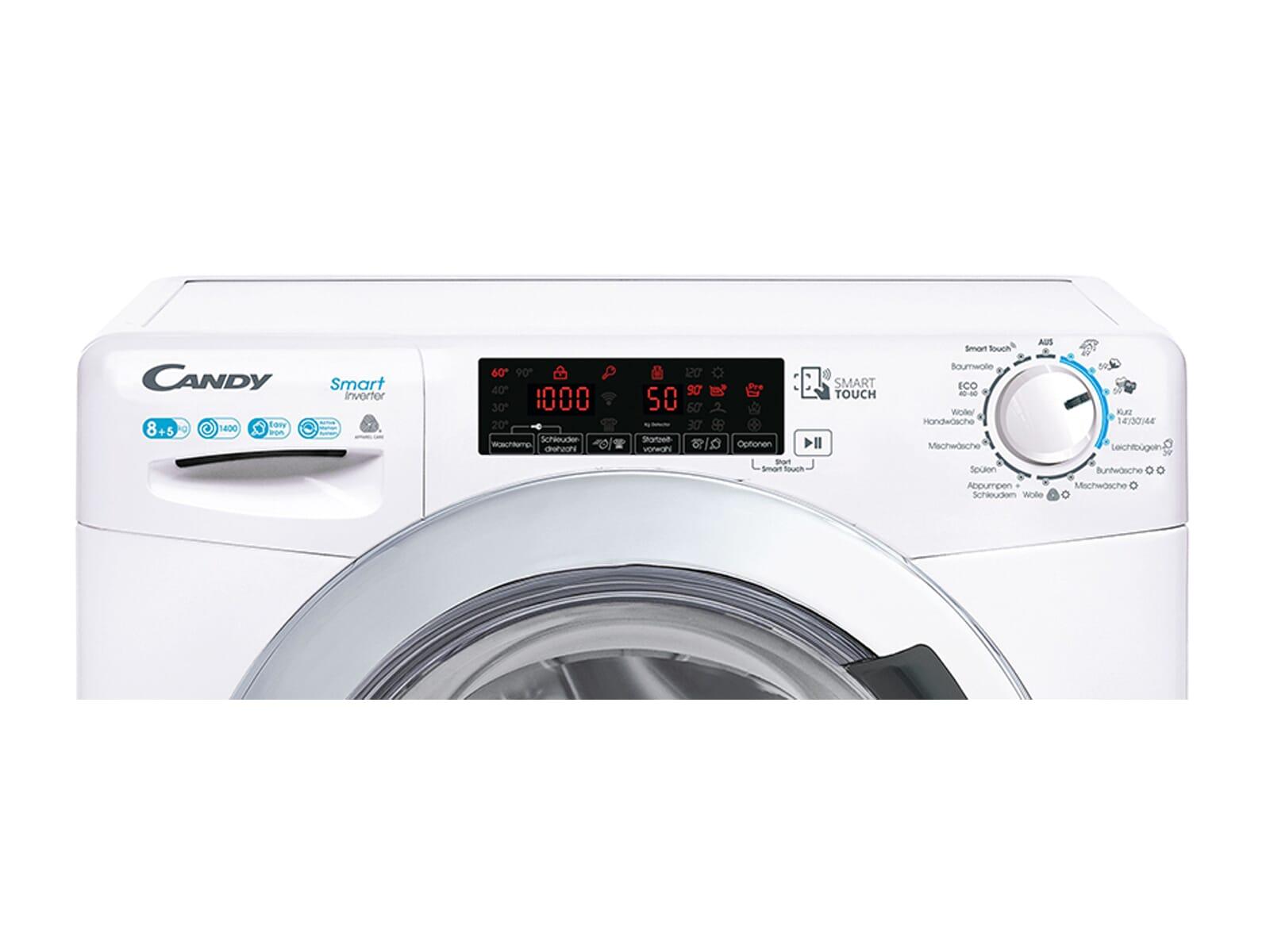 Candy CSWSQ485TWMCE-84  Waschtrockner Weiß