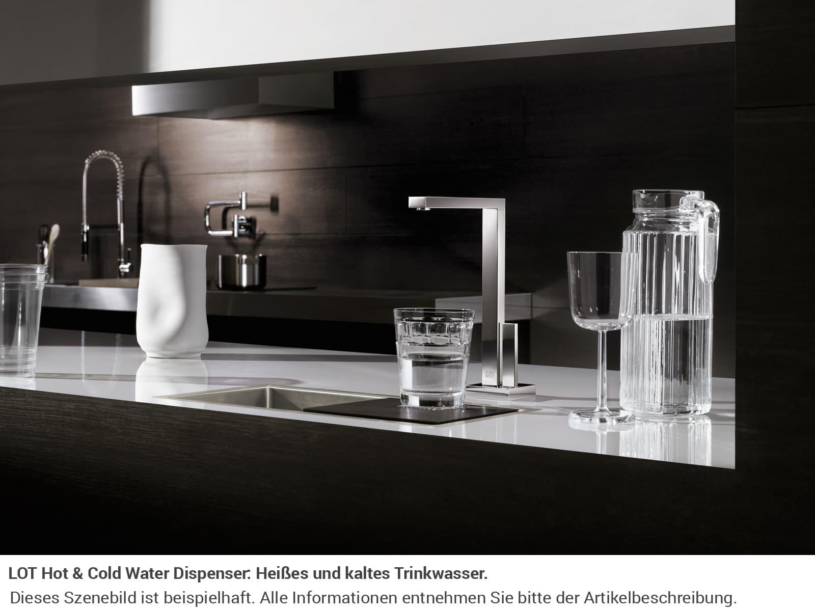 Dornbracht Lot Hot & Cold Water Dispenser Platin Matt 17 861 680-06 Hochdruckarmatur