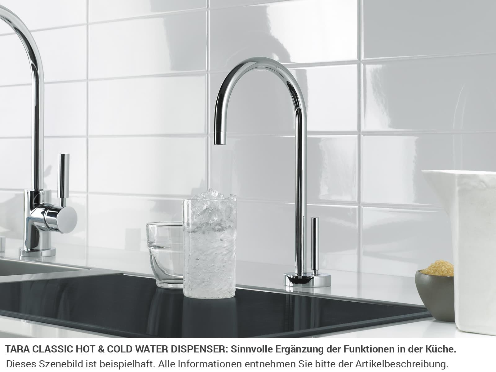 Dornbracht Tara Classic Hot & Cold Water Dispenser Chrom 17 861 888-00 Hochdruckarmatur