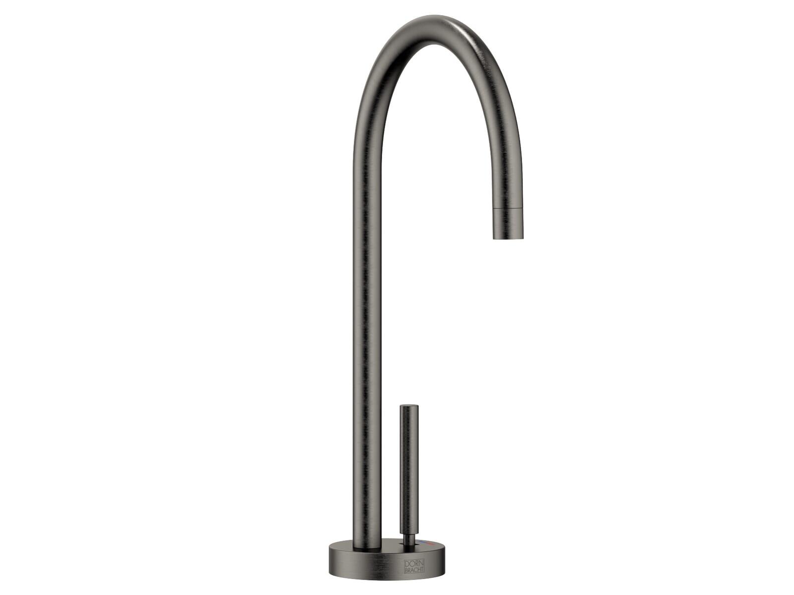 Dornbracht Tara Classic Hot & Cold Water Dispenser Dark Platinum Matt 17 861 888-99 Hochdruckarmatur