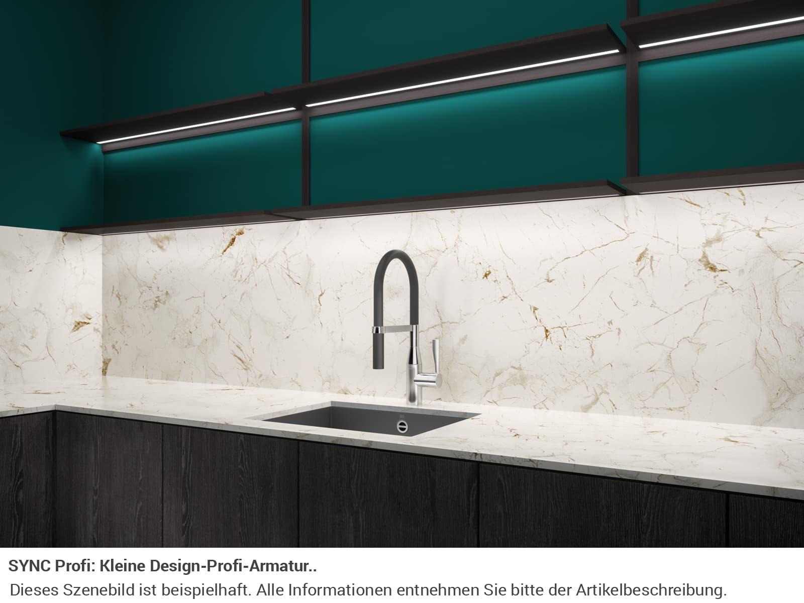 Dornbracht Sync Profi Dark Platinum Matt 33 865 895-99 Hochdruckarmatur