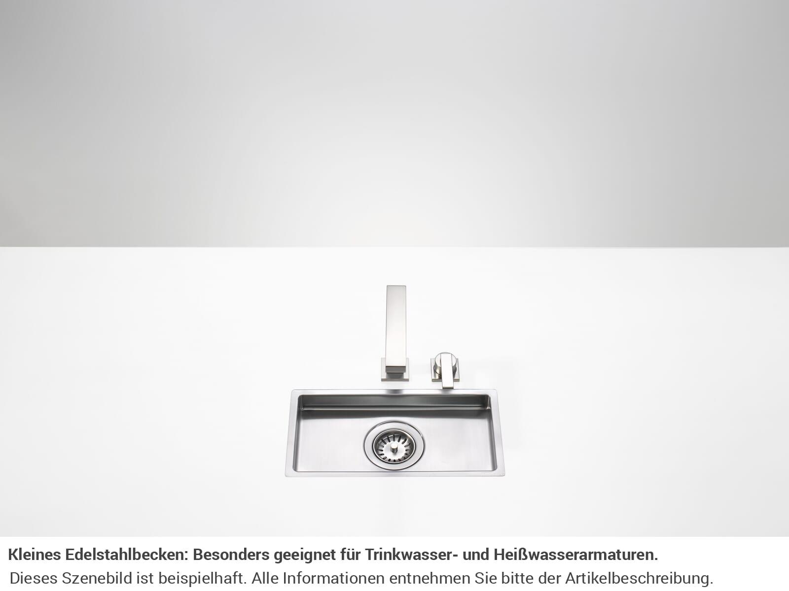 Dornbracht Edelstahlspüle Gebürstet 38 001 000-86