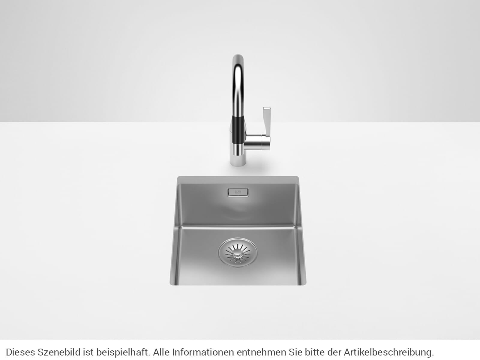 Dornbracht Edelstahl-Spüle Poliert 38340003-85