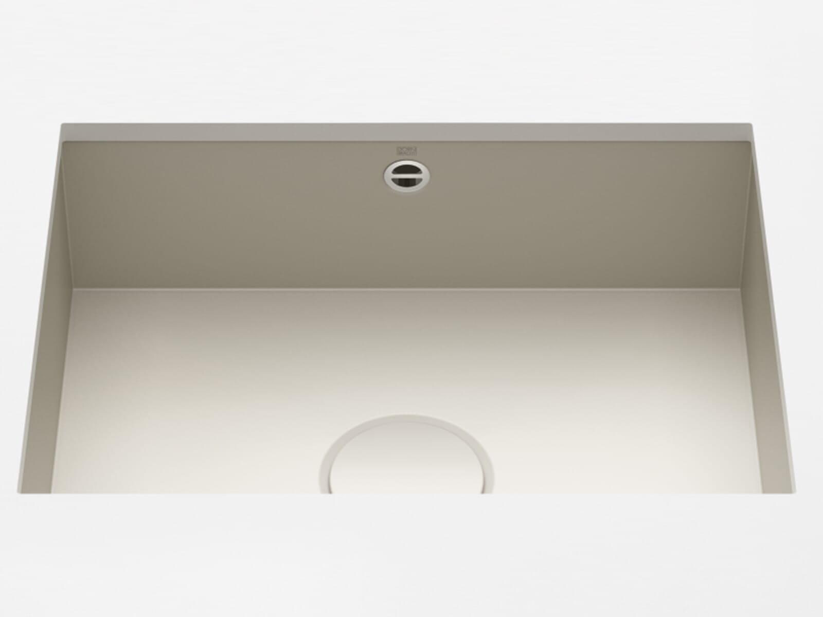 Dornbracht Unterbau-Spüle Glasierter Stahl Sand Matt 38550002-72