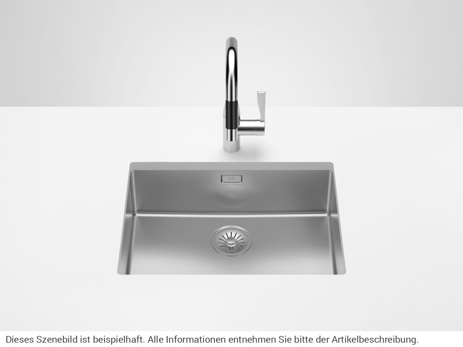 Dornbracht Edelstahl-Spüle Poliert 38550003-85