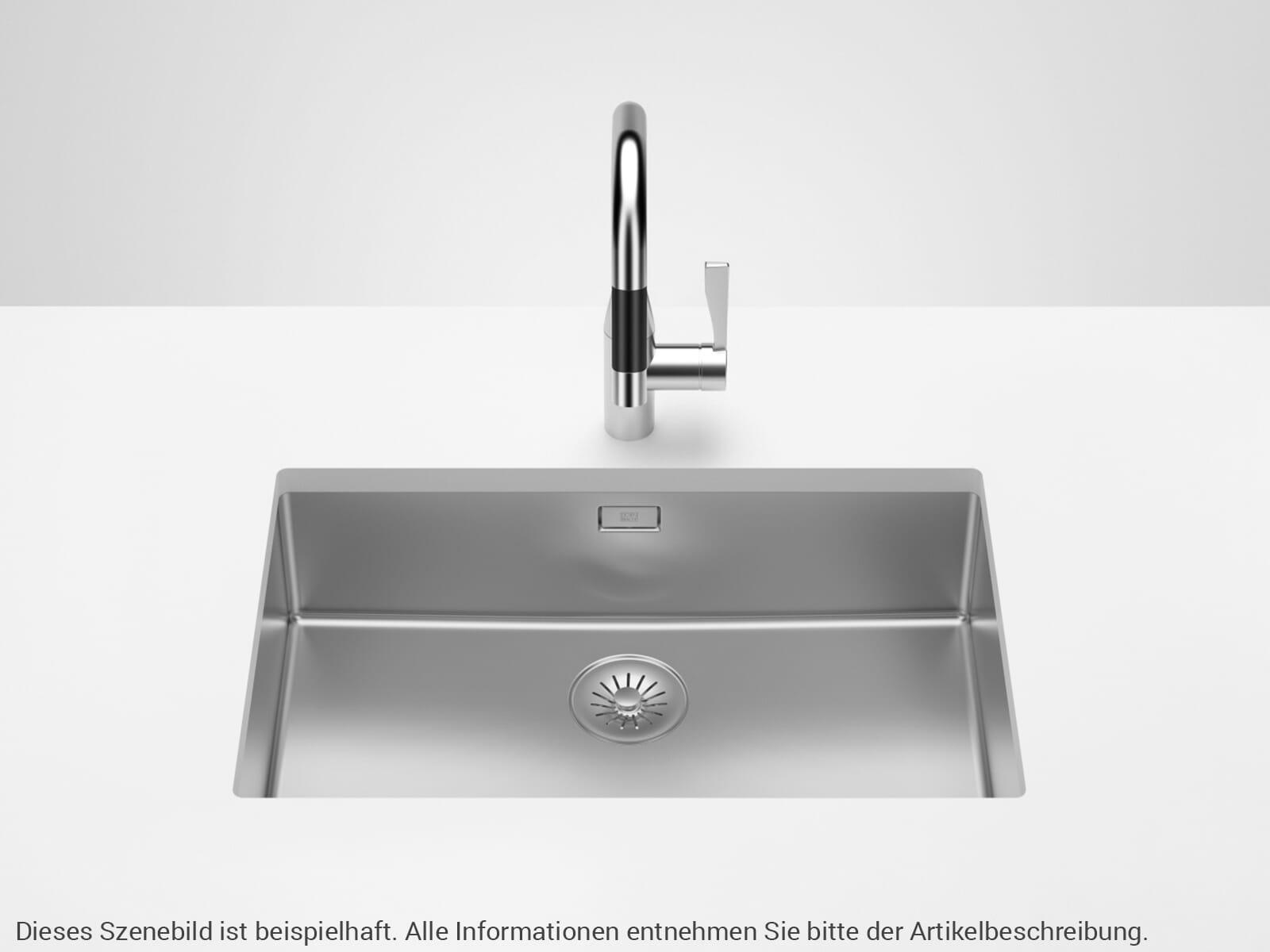 Dornbracht Edelstahl-Spüle Poliert 38650003-85