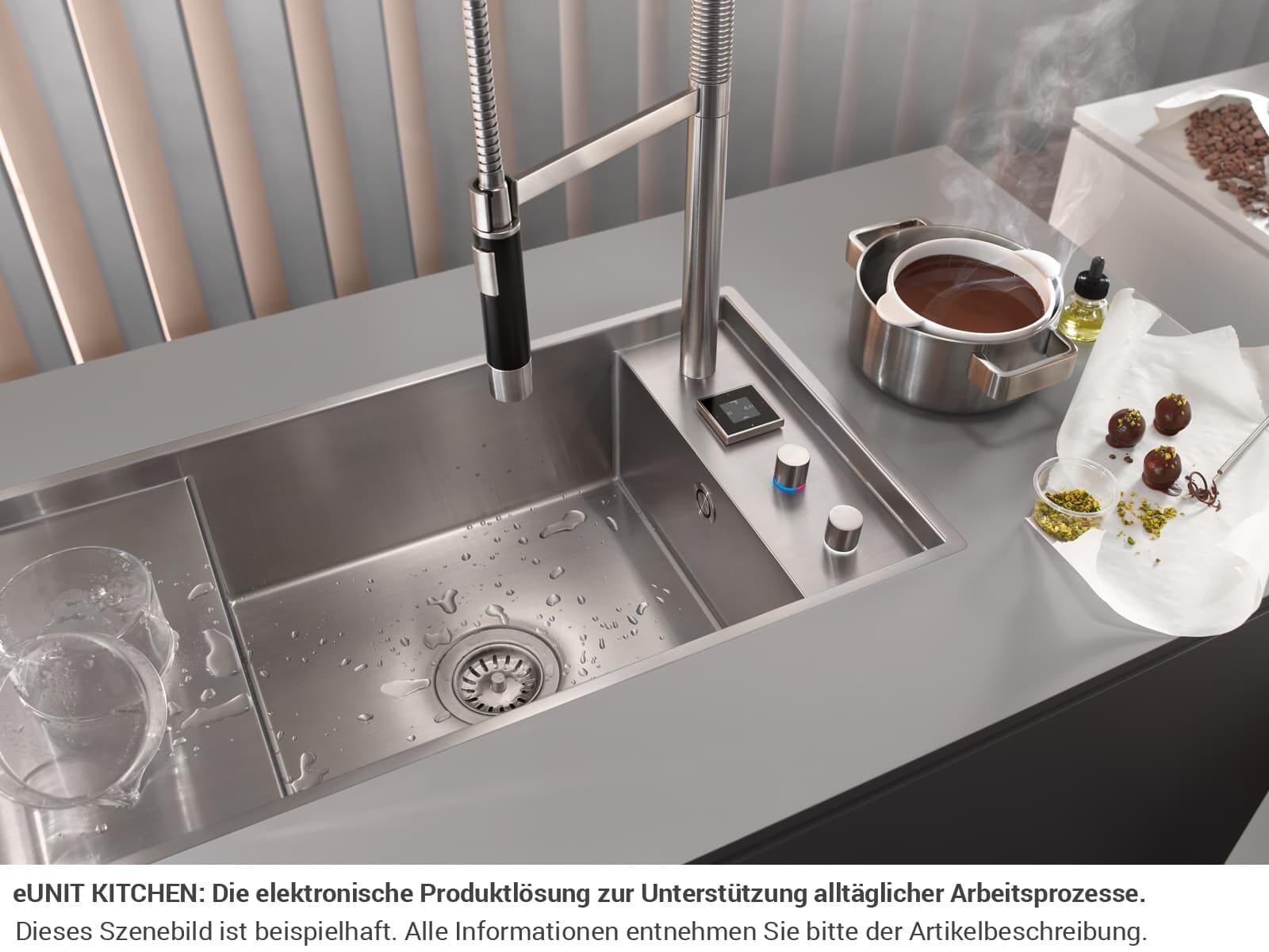 Dornbracht Tara Ultra Profi eUnit Kitchen Platin Matt 41 270 875-06 Hochdruckarmatur