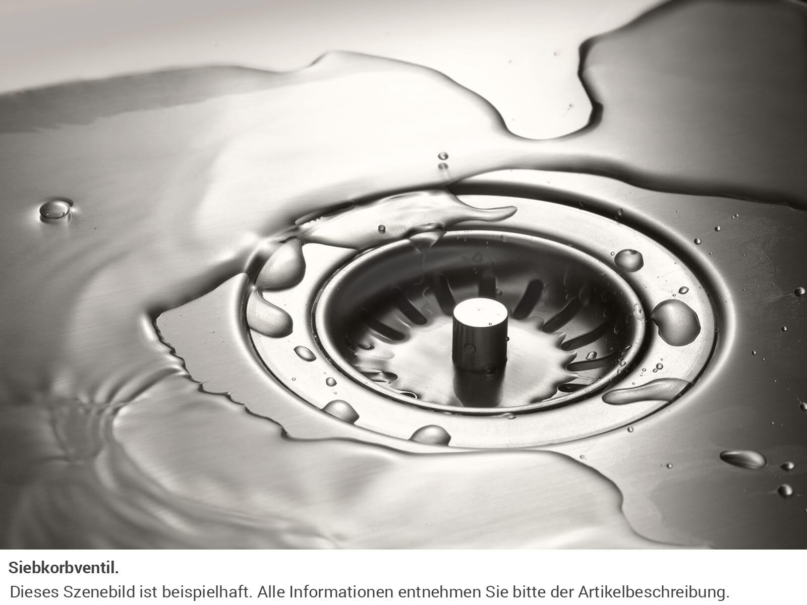Dornbracht Edelstahl-Spüle Gebürstet 38060000-86