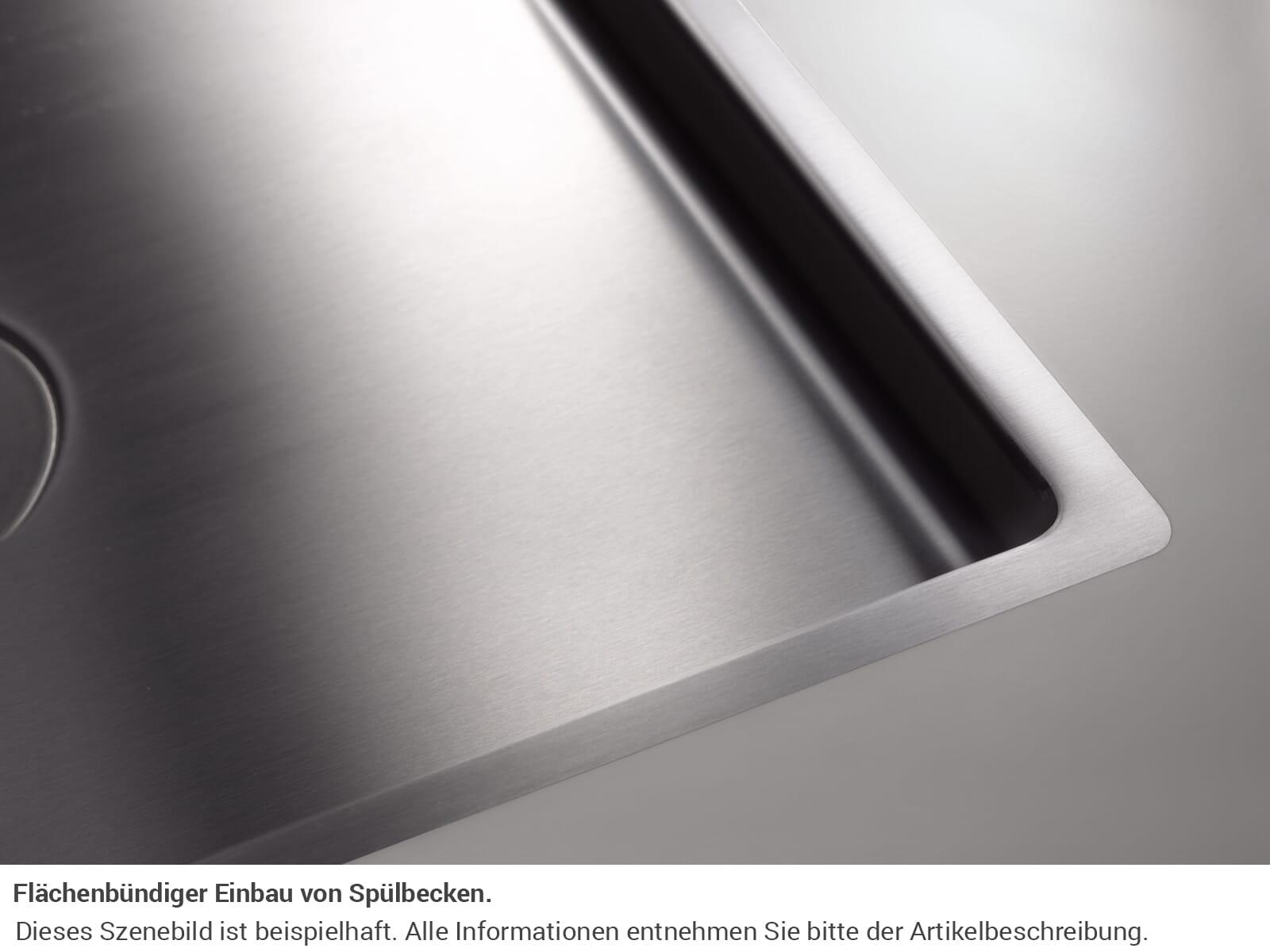 Dornbracht Edelstahl-Spüle Poliert 38551003-85