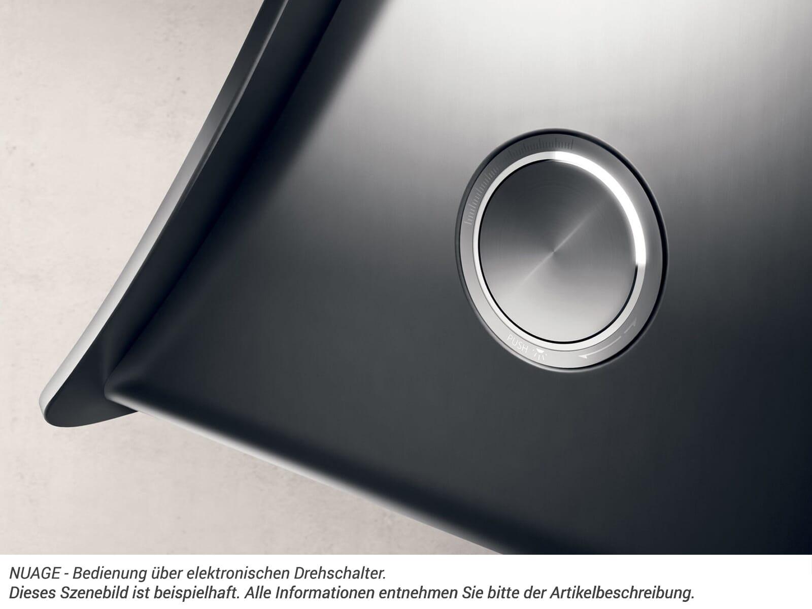 Elica Nuage Paintable PRF0098374 Wandhaube Edelstahl/Weiß Lackierbar