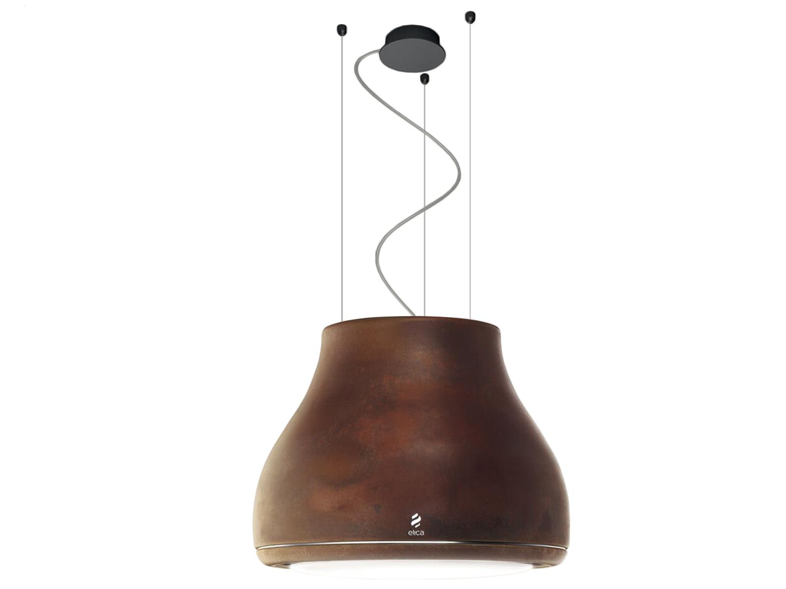 Elica Shining PRF0120528A Inselhaube Rust