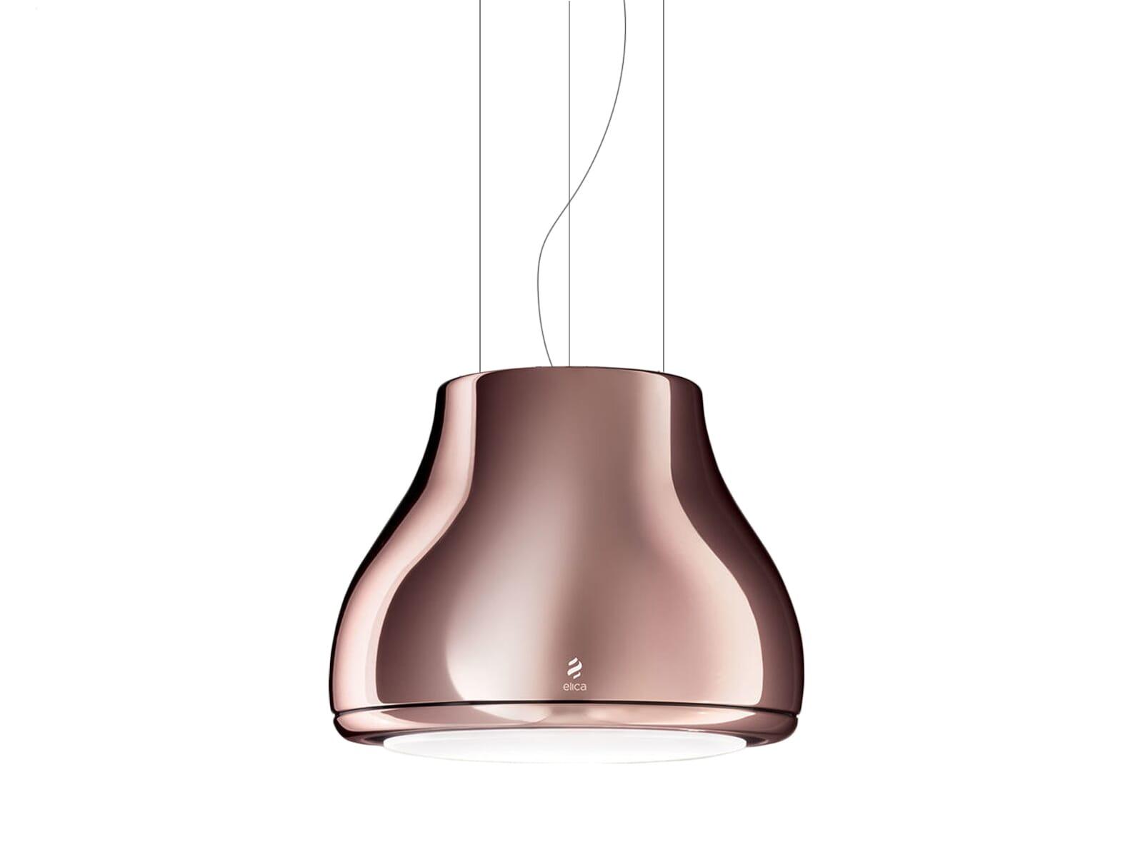 Elica Shining PRF0120529A Inselhaube Copper