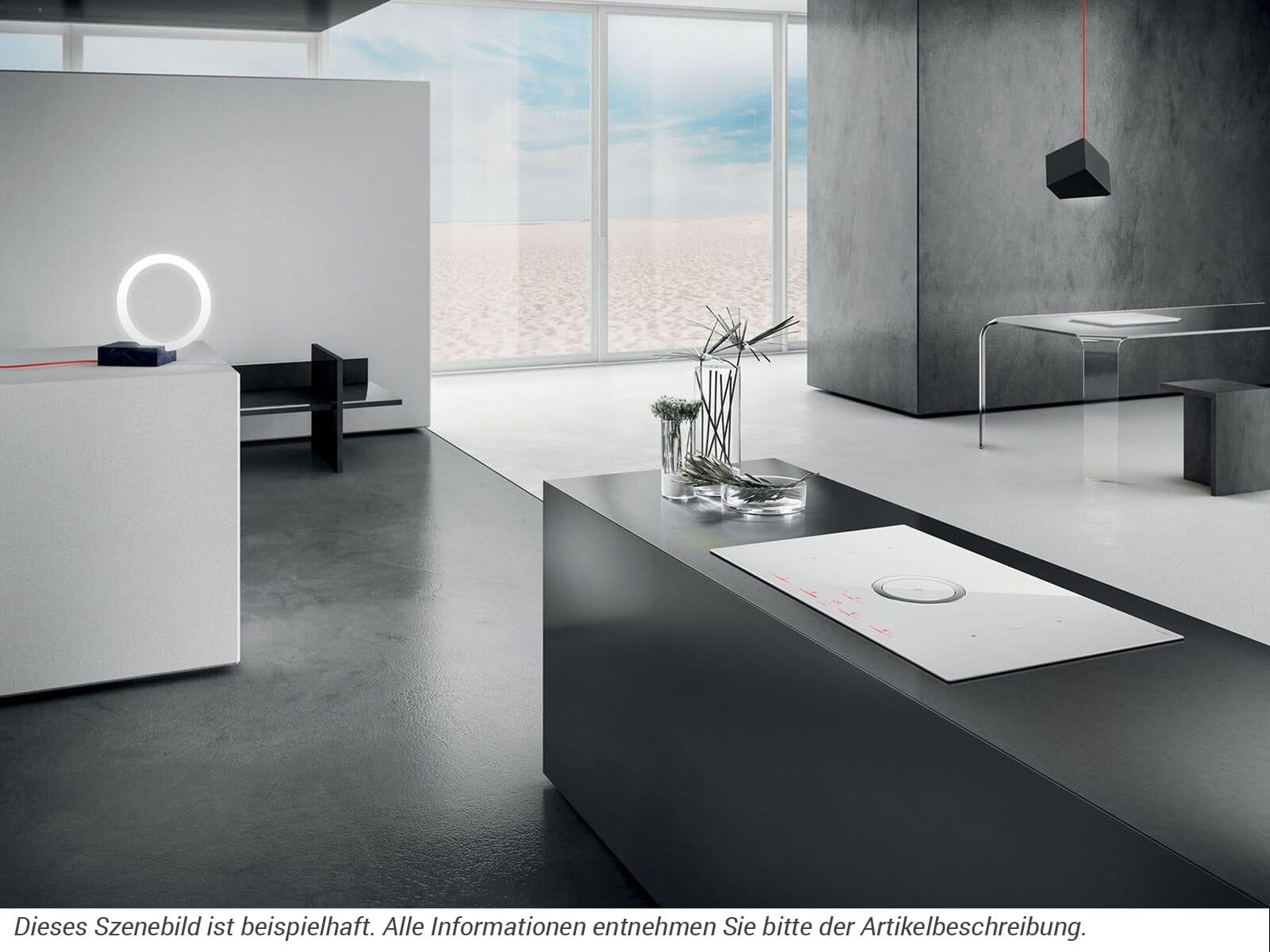 Elica NikolaTesla Switch PRF0146216 Induktionskochfeld-Dunstabzug-Kombination Weiß