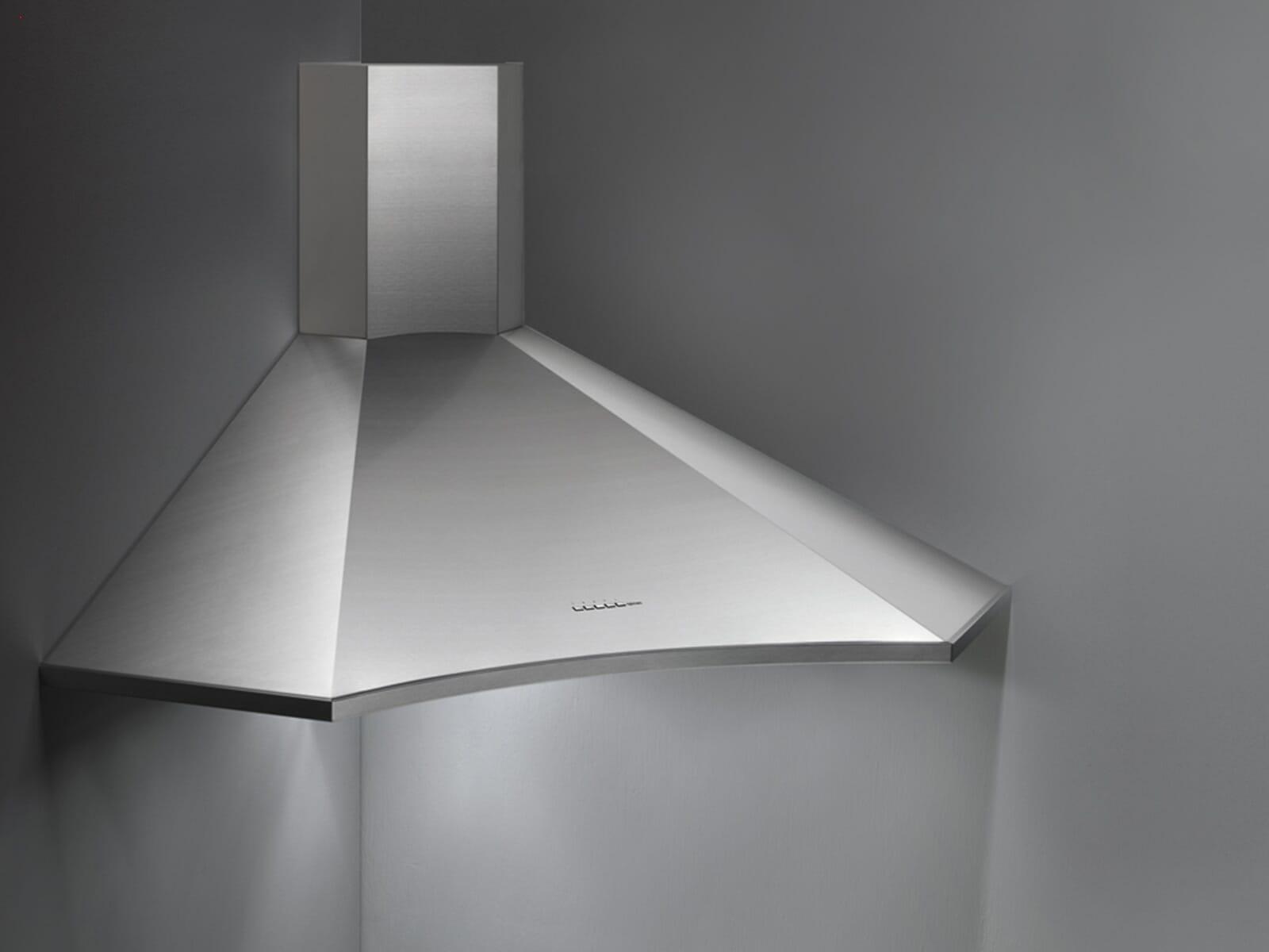 Falmec Elios Eckhaube 100 cm Edelstahl