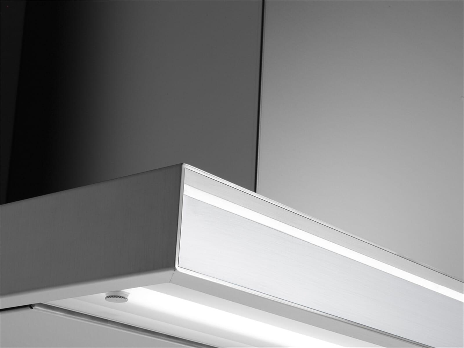 Falmec Lumina NRS® Wandhaube 120 cm Edelstahl