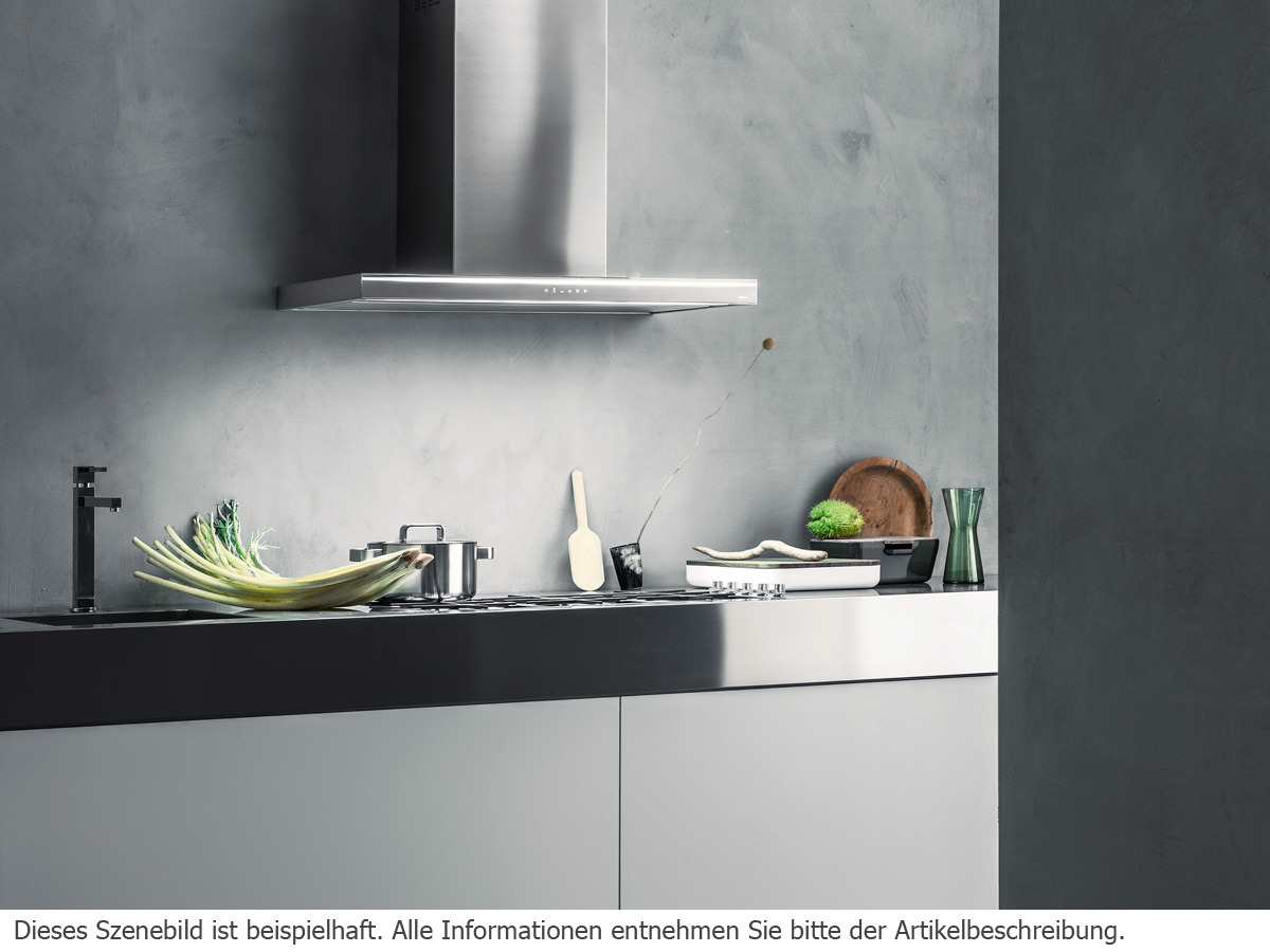 Falmec Lumina NRS® Wandhaube 120 cm Weiß