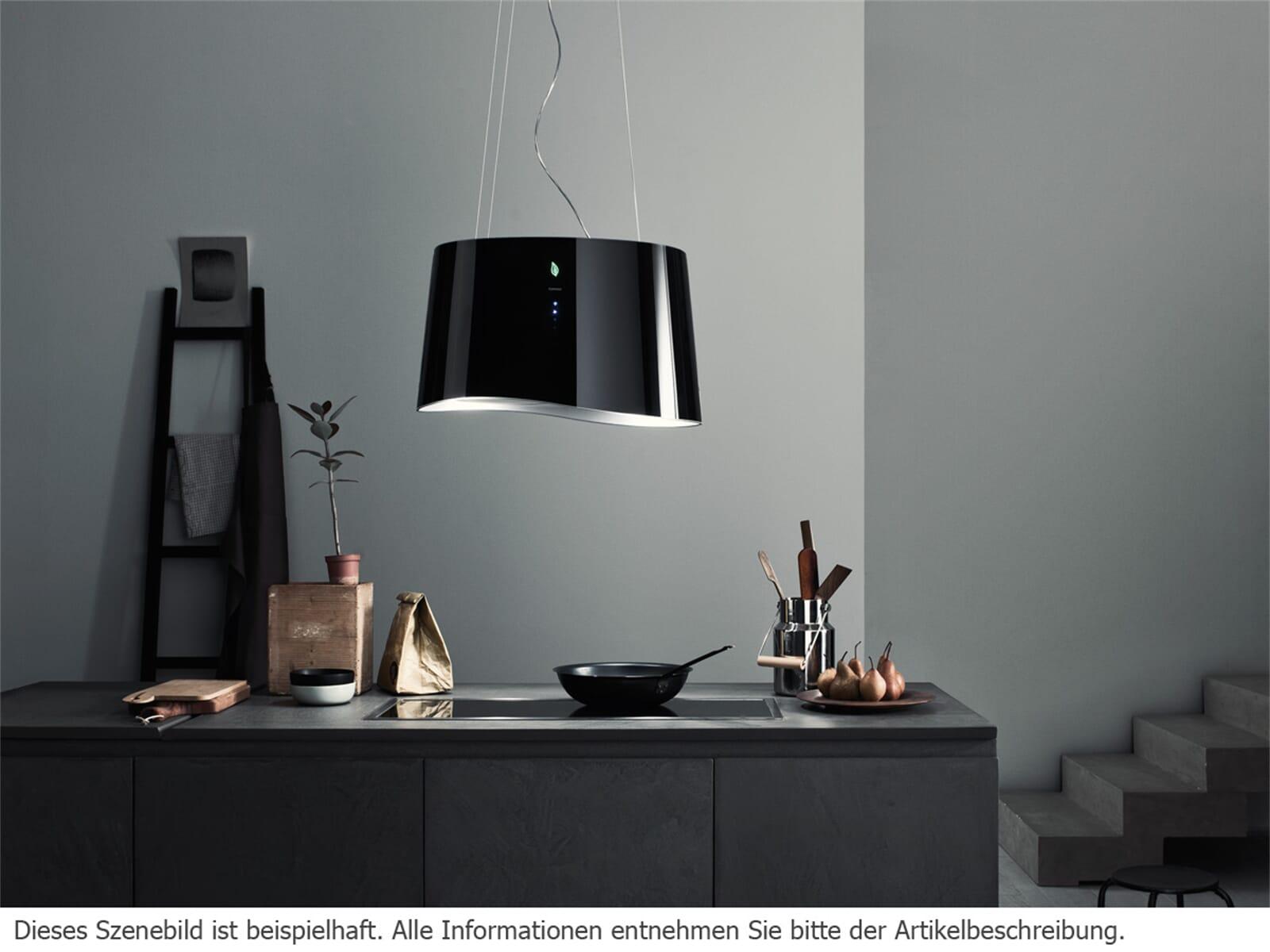 Falmec Mare E.ion® Inselhaube 66 cm Schwarz