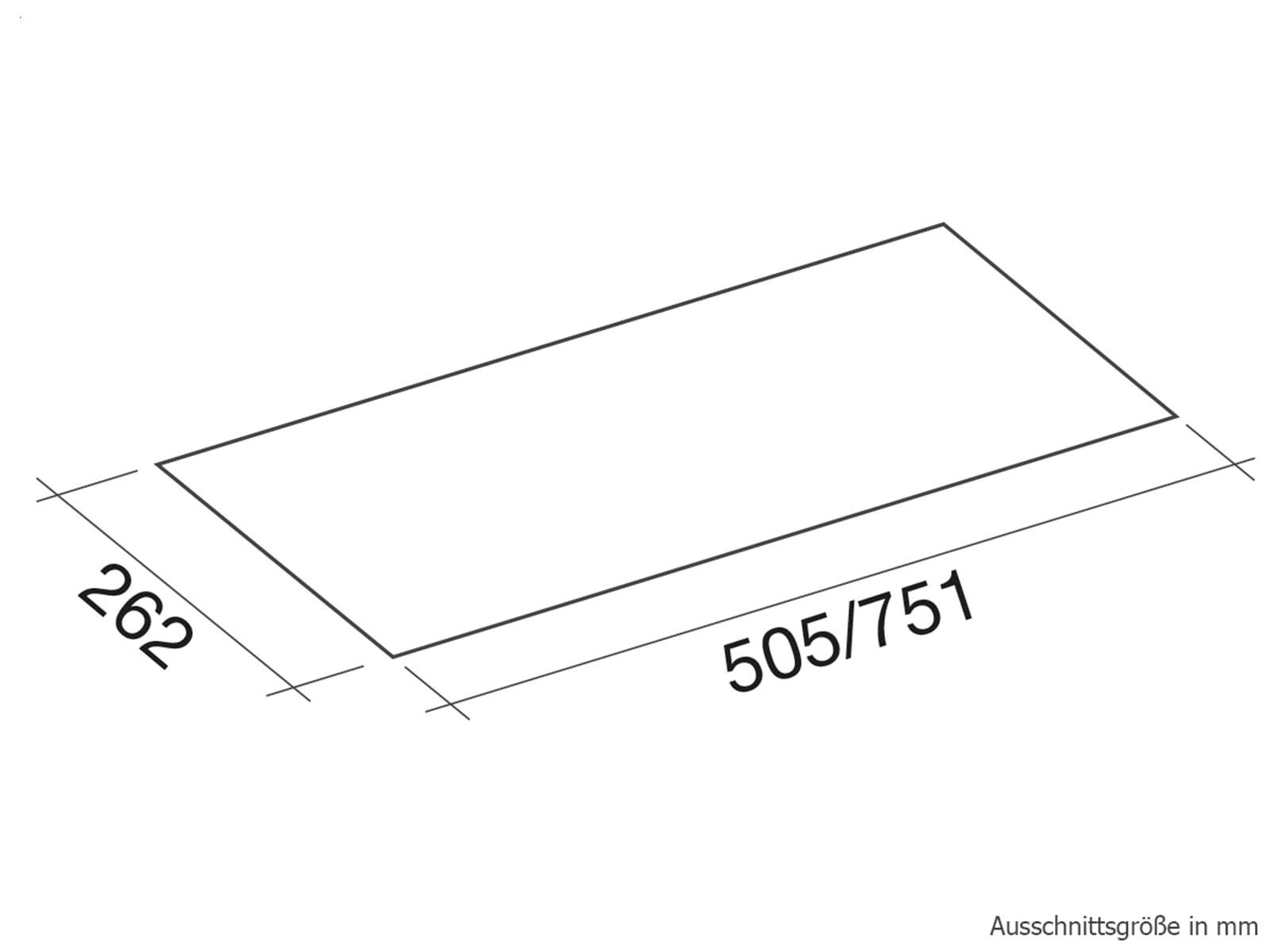 Falmec Murano Lüfterbaustein 70 cm Weiß