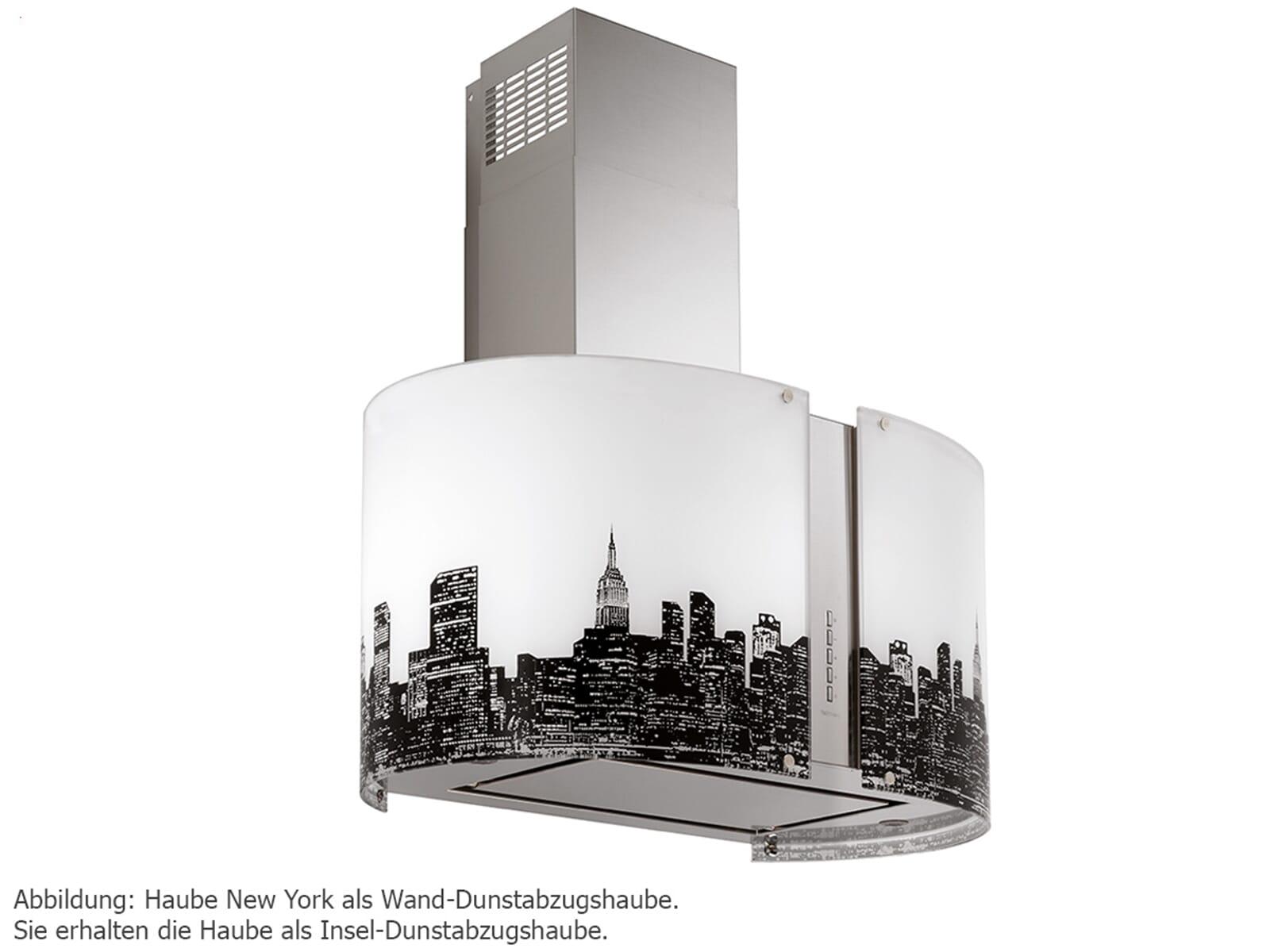 Falmec Mirabilia New York Inselhaube 85 cm Edelstahl