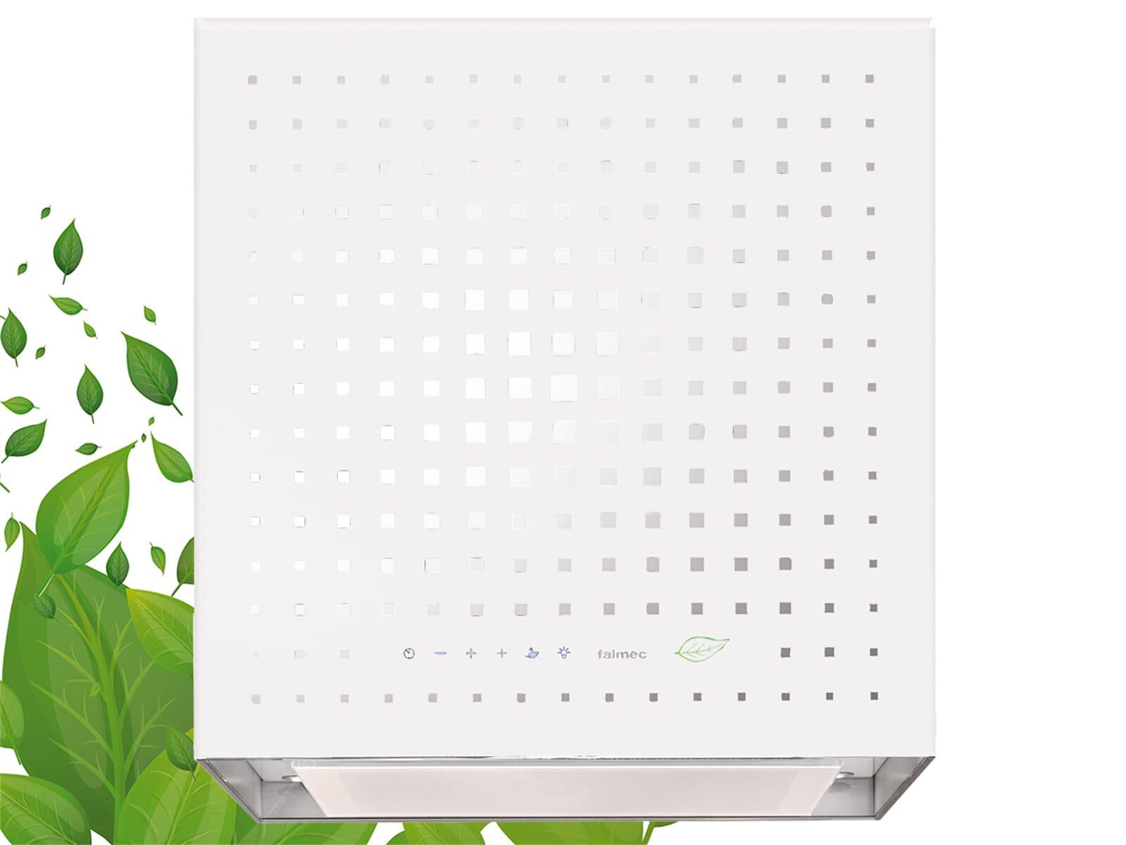 Falmec Rubik E.ion® Inselhaube 43 cm Weiß
