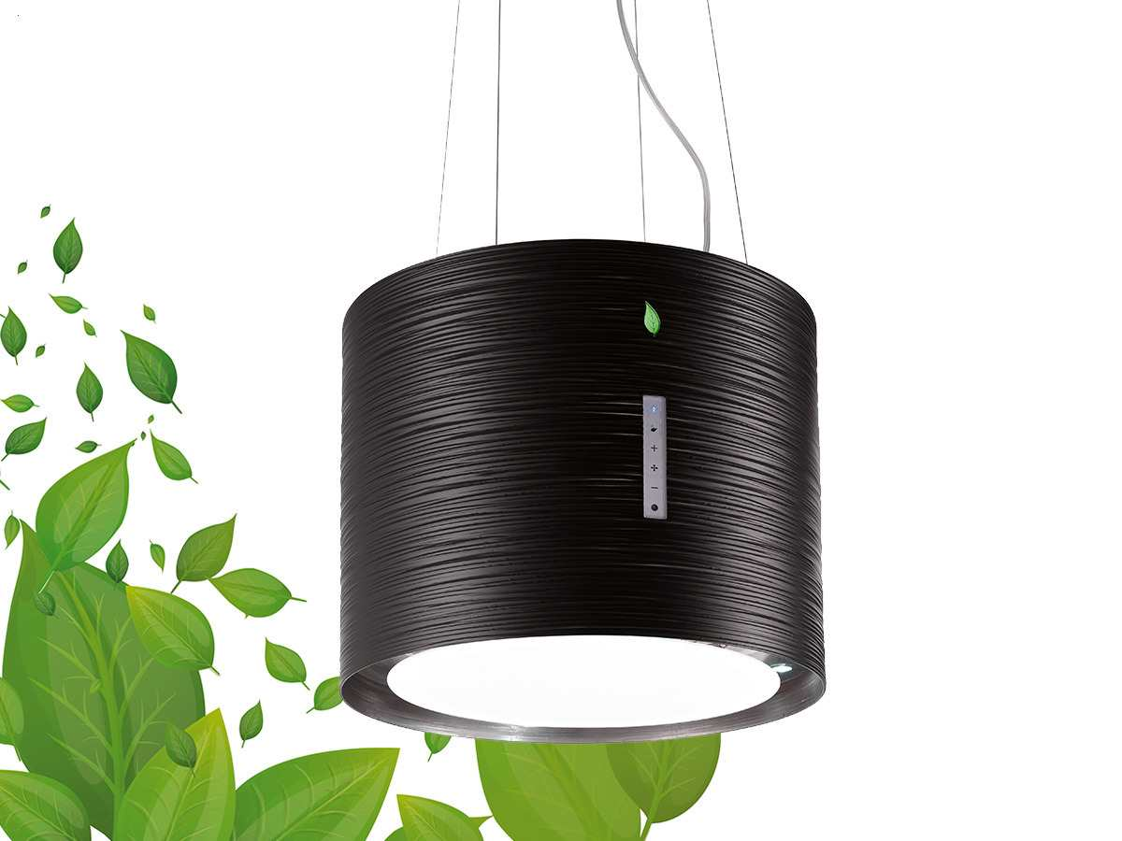 falmec twister inselhaube schwarz. Black Bedroom Furniture Sets. Home Design Ideas