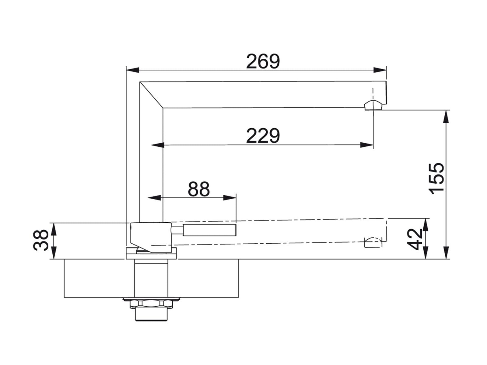 Franke Active Window Chrom Hochdruckarmatur
