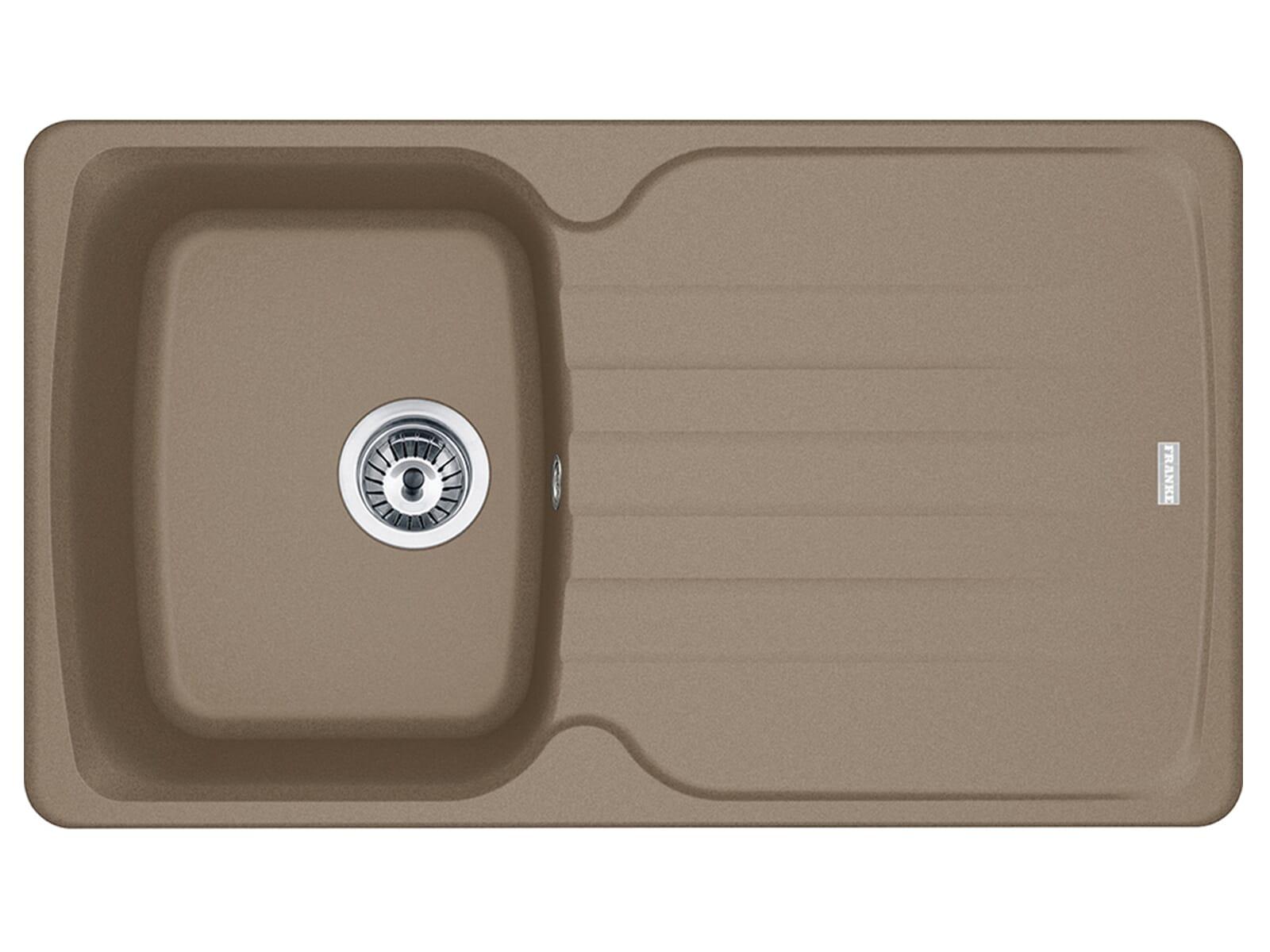 Franke Antea AZG 611 Cashmere - 114.0477.979 Granitspüle Exzenterbetätigung