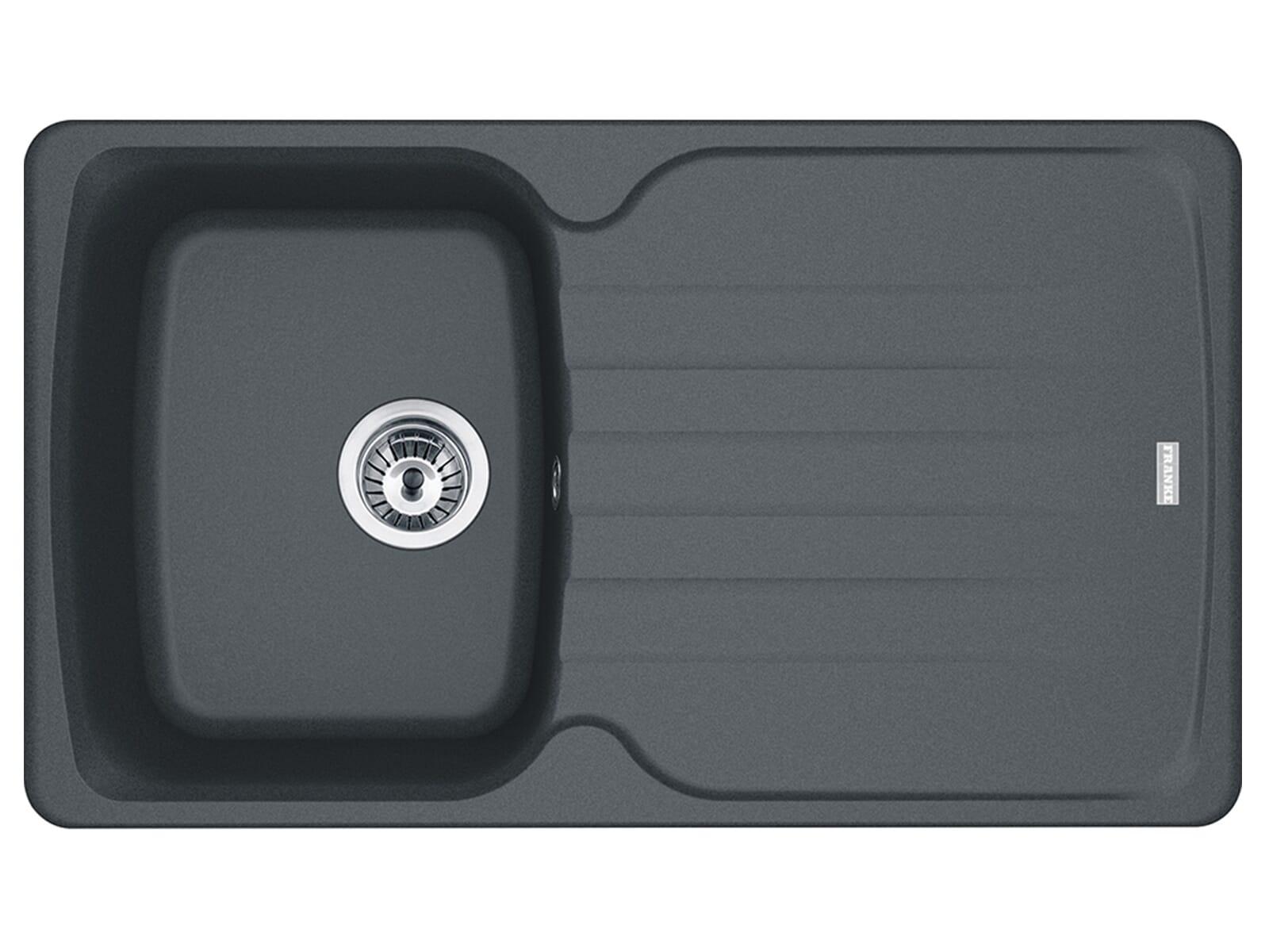 Franke Antea AZG 611 Graphit - 114.0477.976 Granitspüle Exzenterbetätigung
