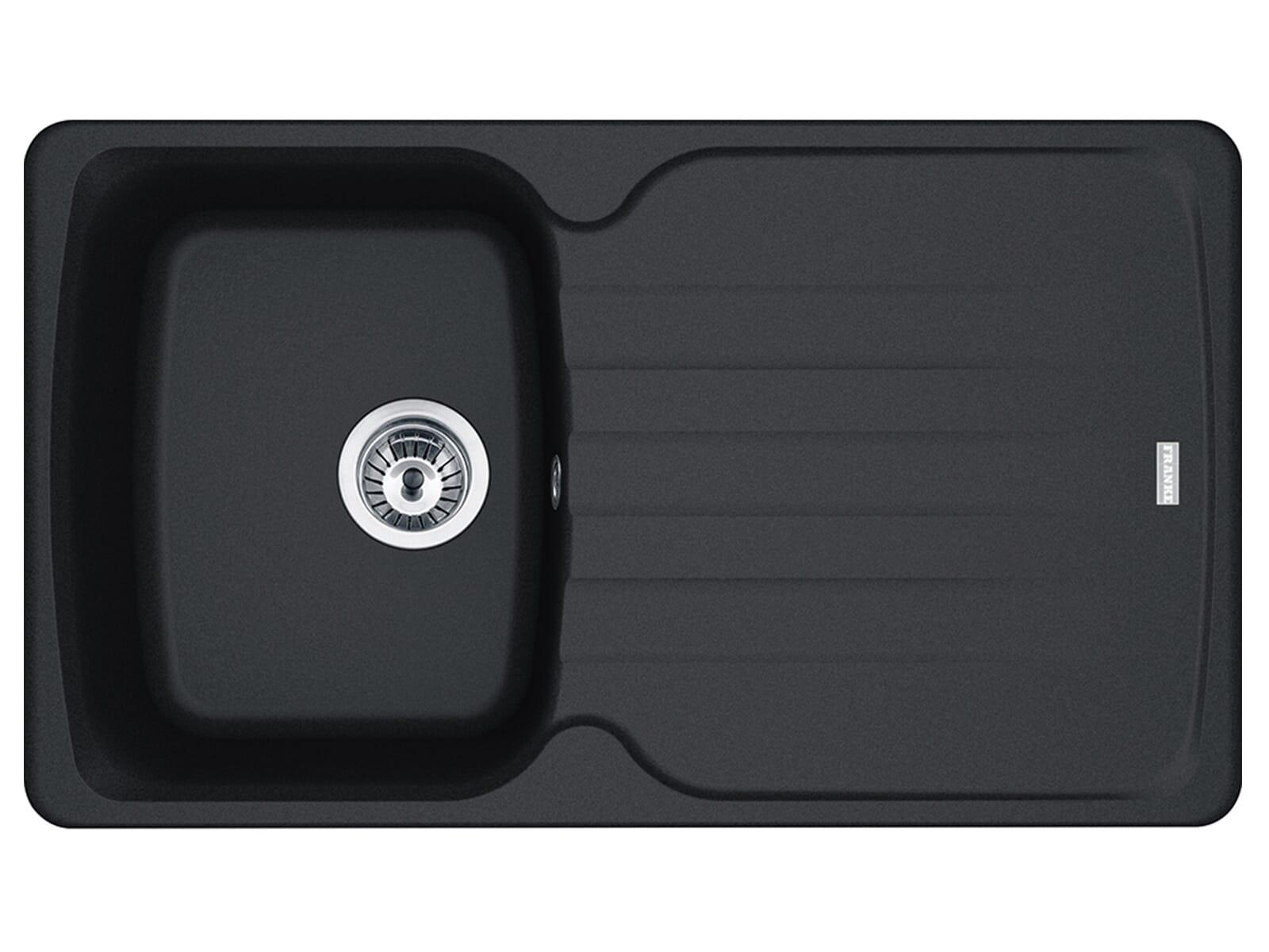 Franke Antea AZG 611 Onyx - 114.0477.978 Granitspüle Exzenterbetätigung