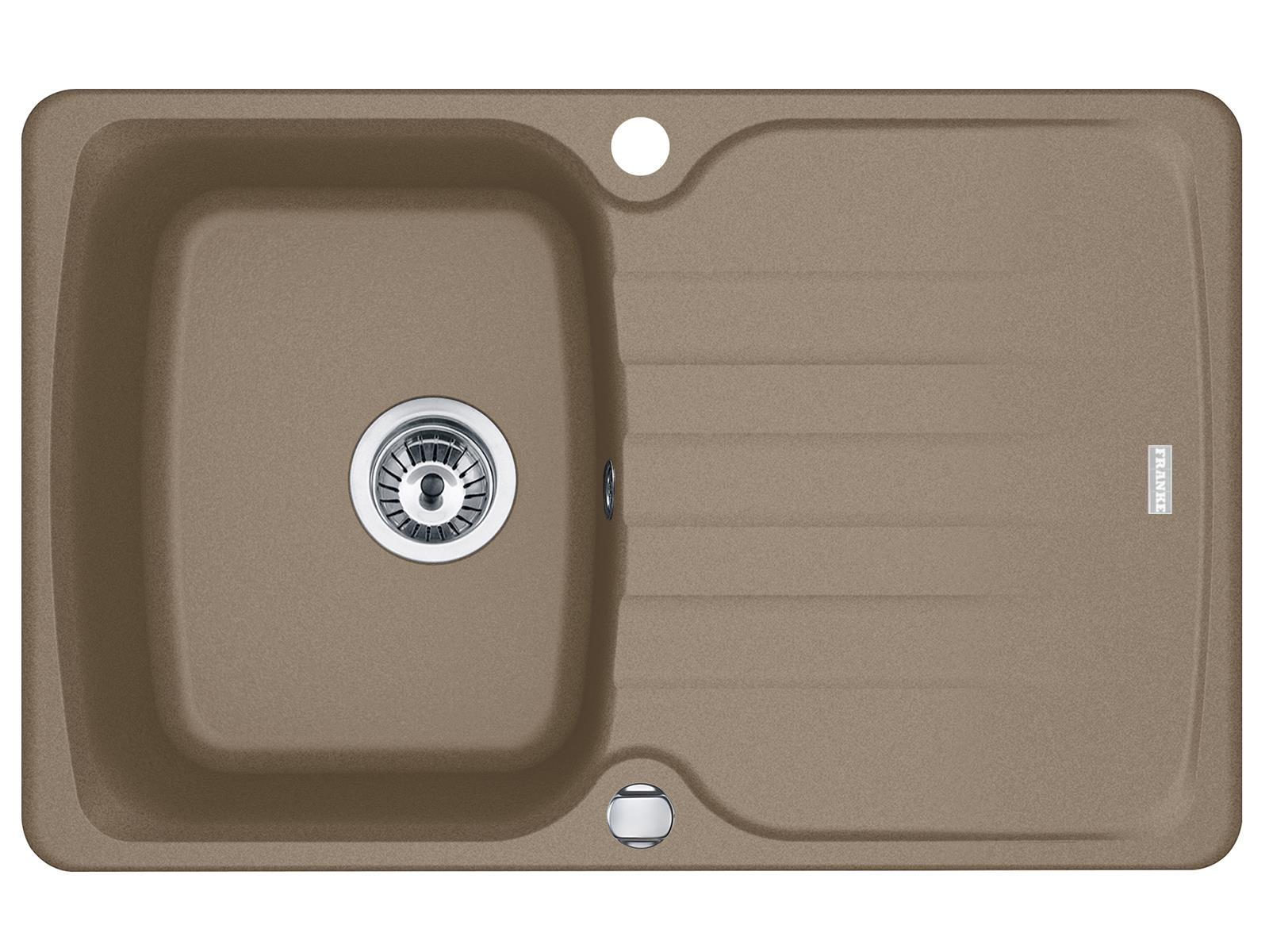 Franke Antea AZG 611-78 Cashmere - 114.0512.153 Granitspüle Exzenterbetätigung