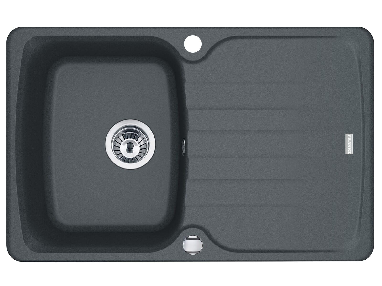 Franke Antea AZG 611-78 Graphit - 114.0512.139 Granitspüle Exzenterbetätigung