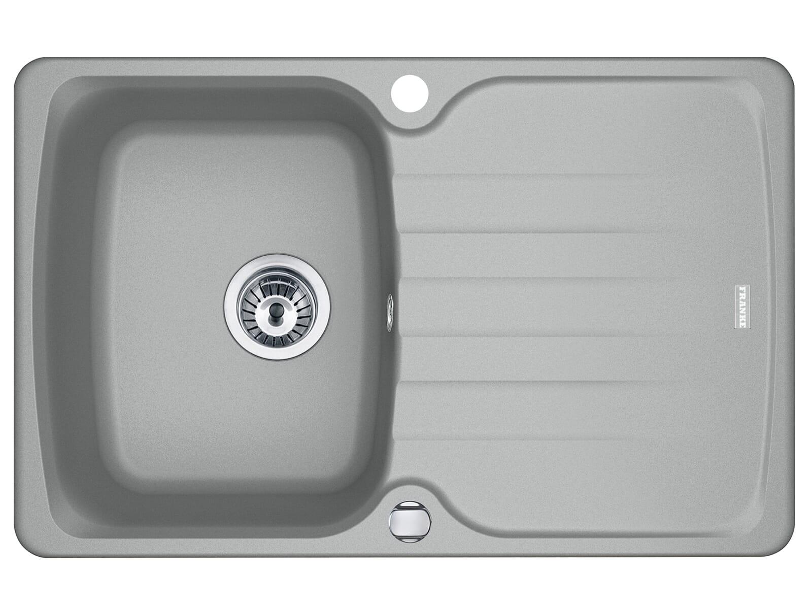 Franke Antea AZG 611-78 Steingrau - 114.0512.158 Granitspüle Exzenterbetätigung