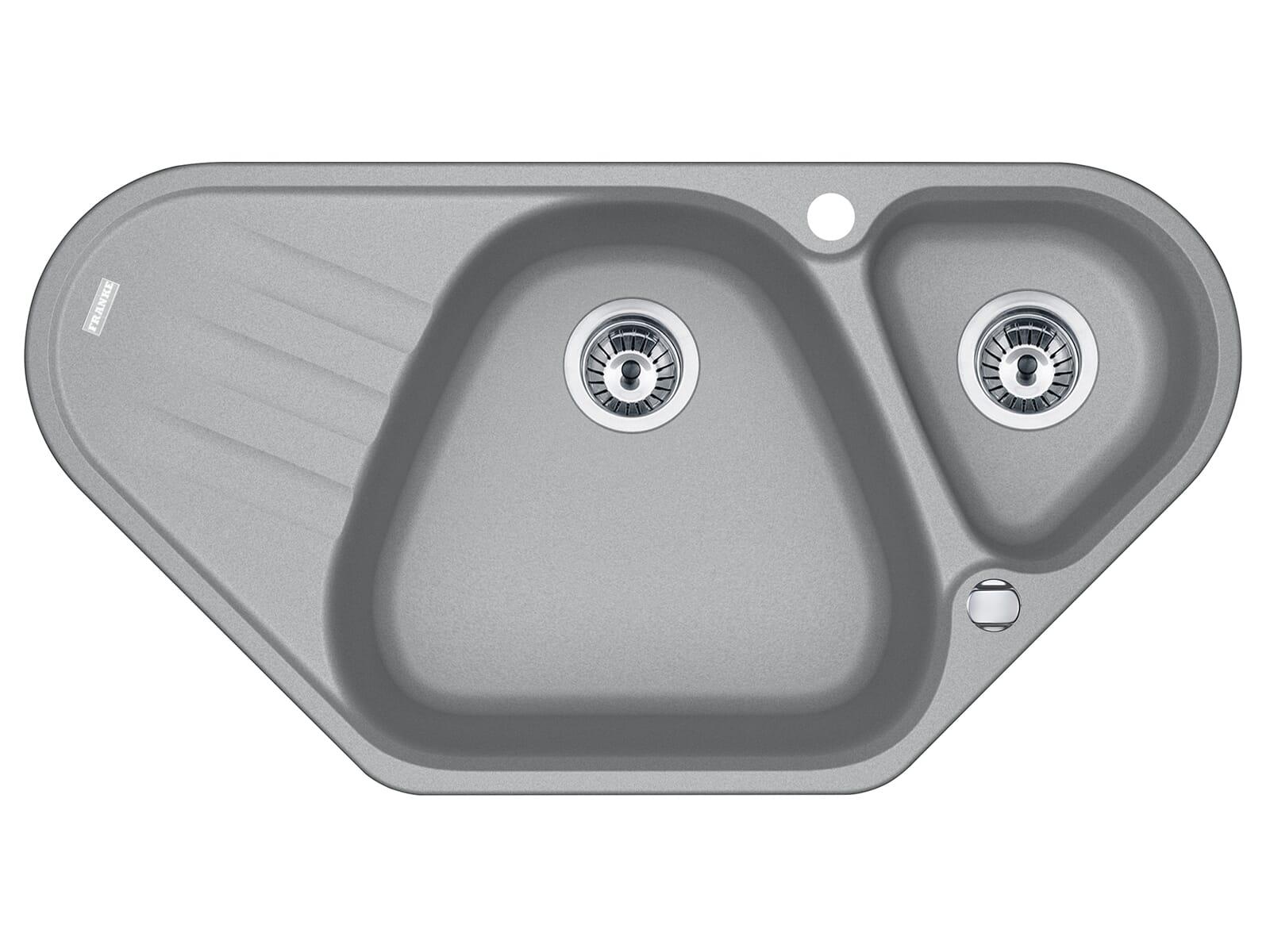 Franke Antea AZG 661-E Steingrau - 114.0477.993 Granitspüle Exzenterbetätigung