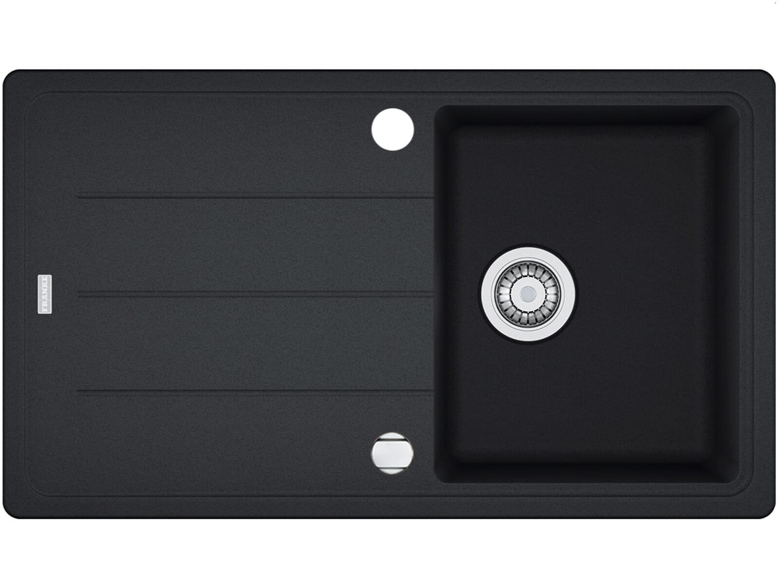 Franke Basis BFG 611-86 Graphit Granitspüle