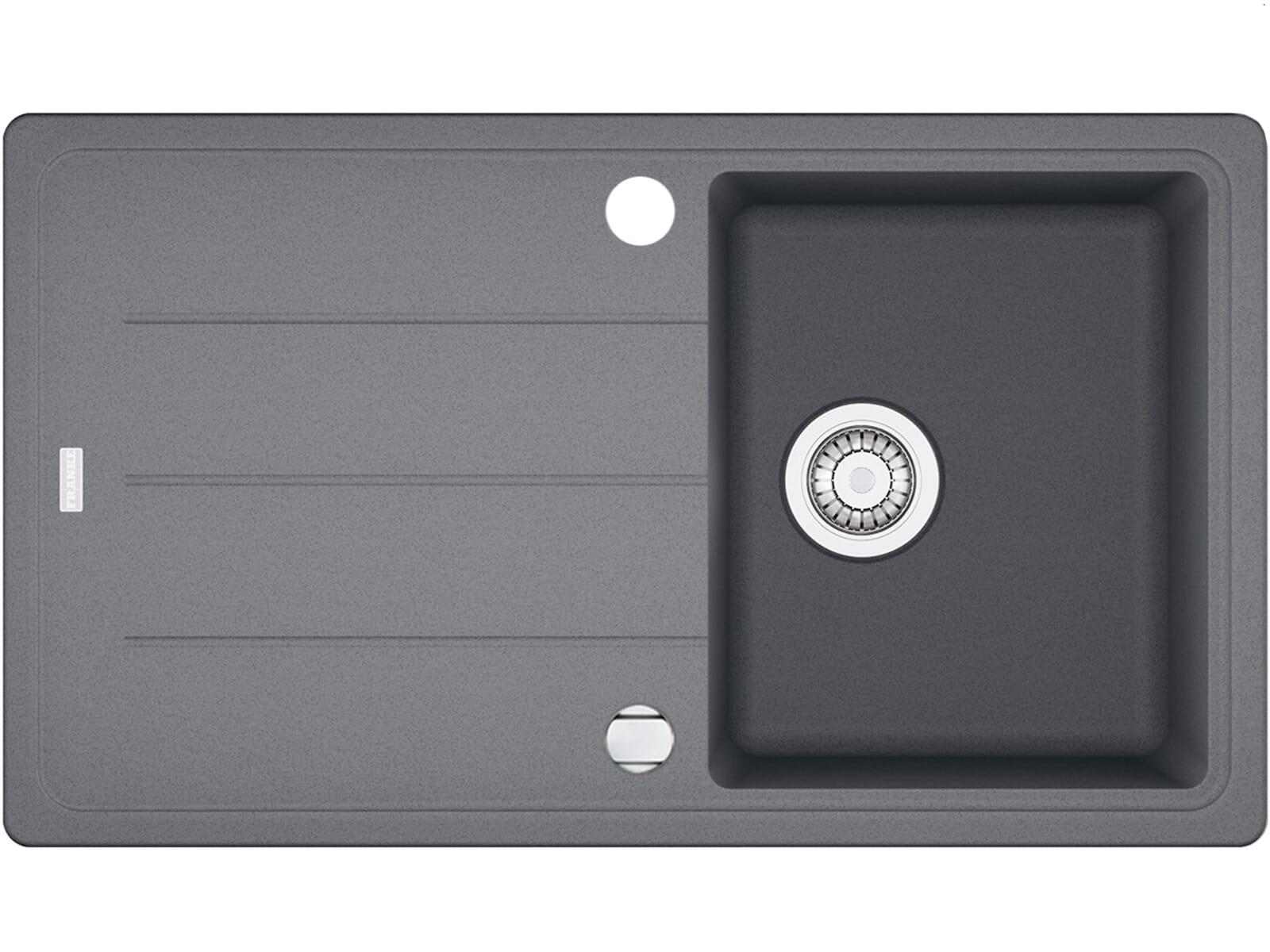 Produktabbildung Franke Basis BFG 611-86 Steingrau Granit-Spüle