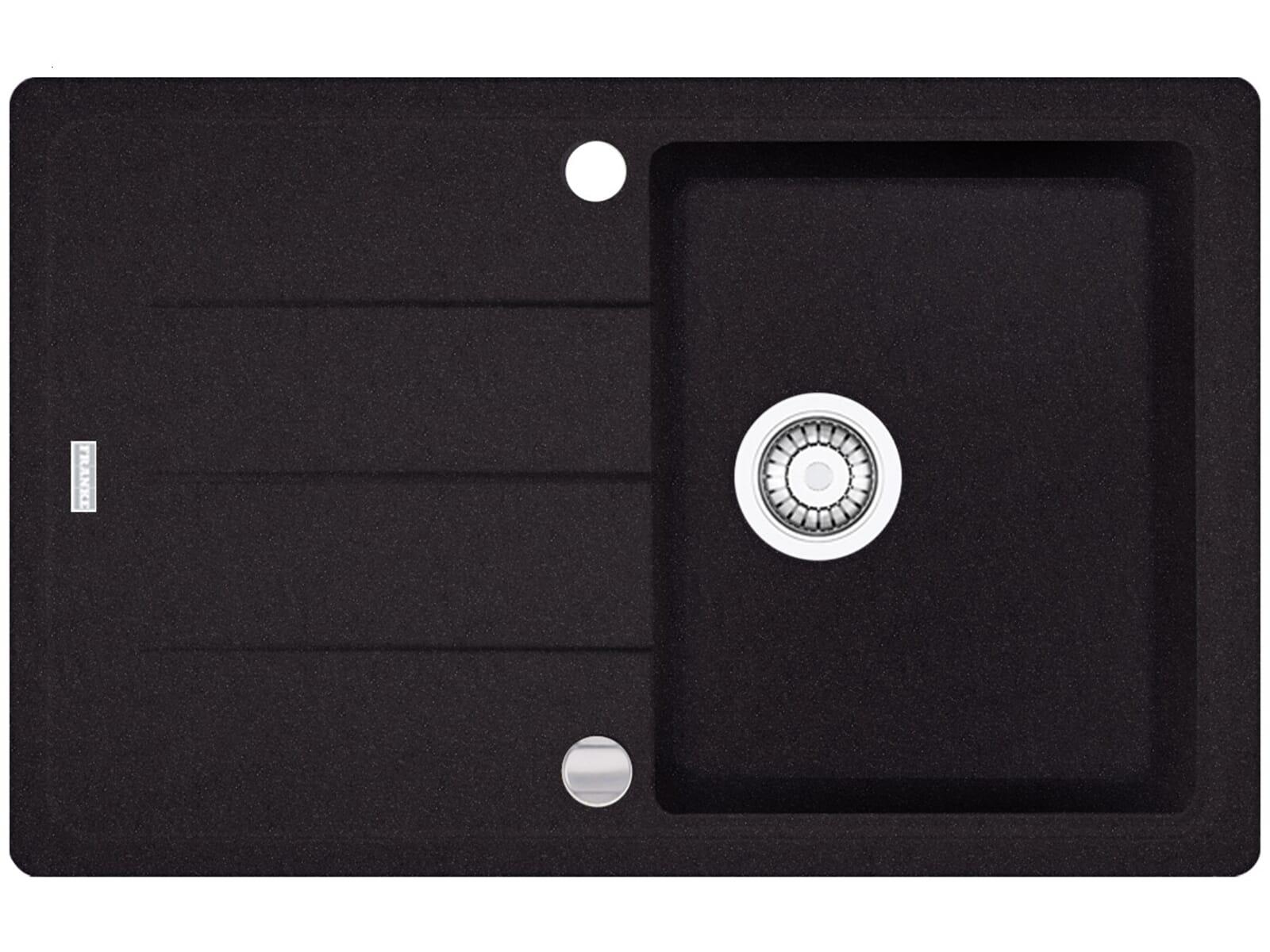 Franke Basis BFG 611  Onyx Granitspüle