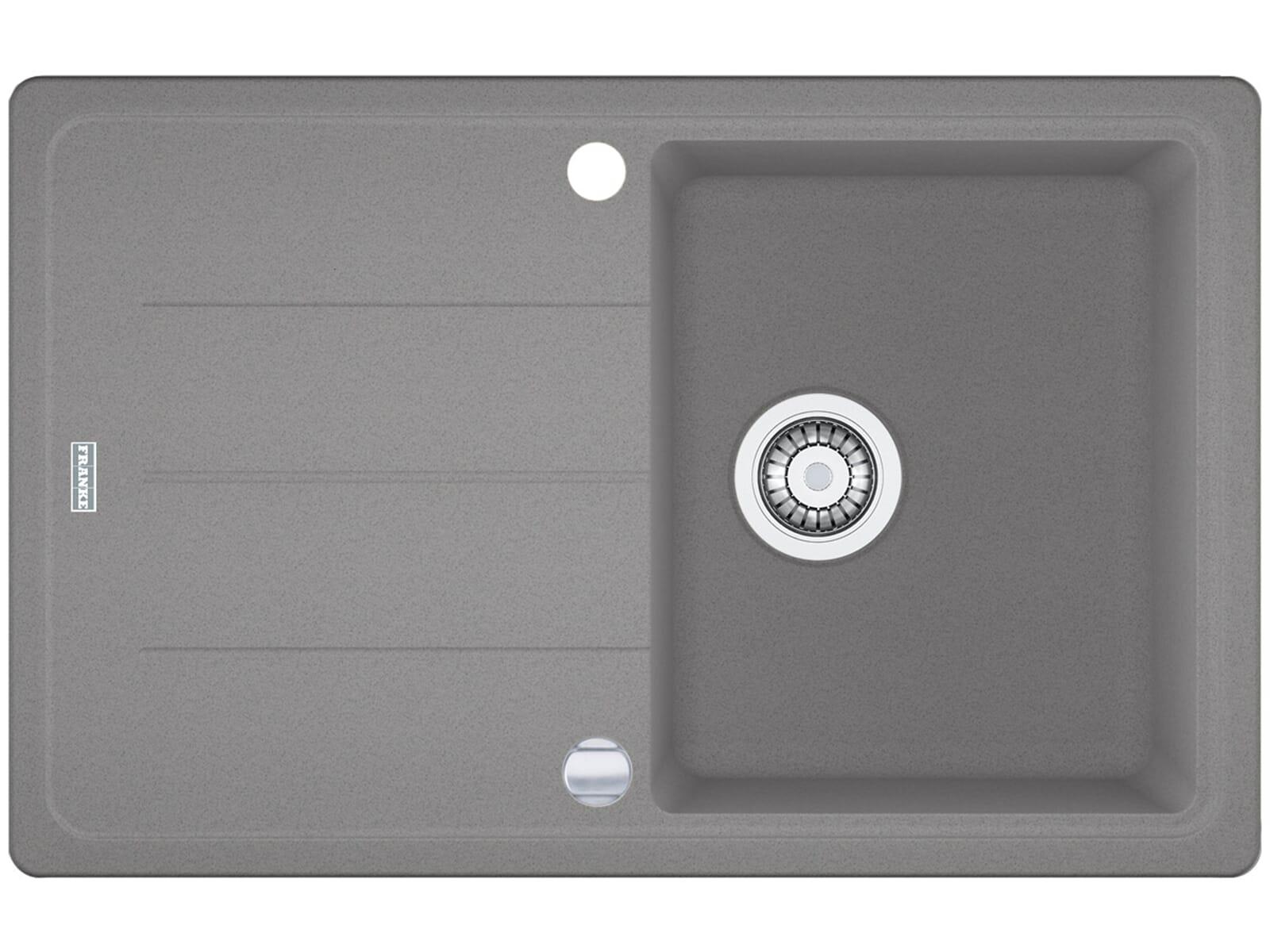 Franke Basis BFG 611 Steingrau Granitspüle