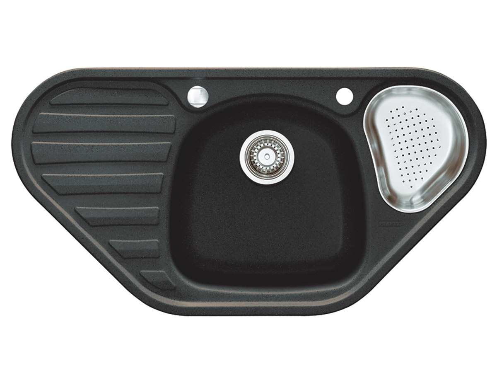 Franke Calypso COG 651-E Graphit Granitspüle