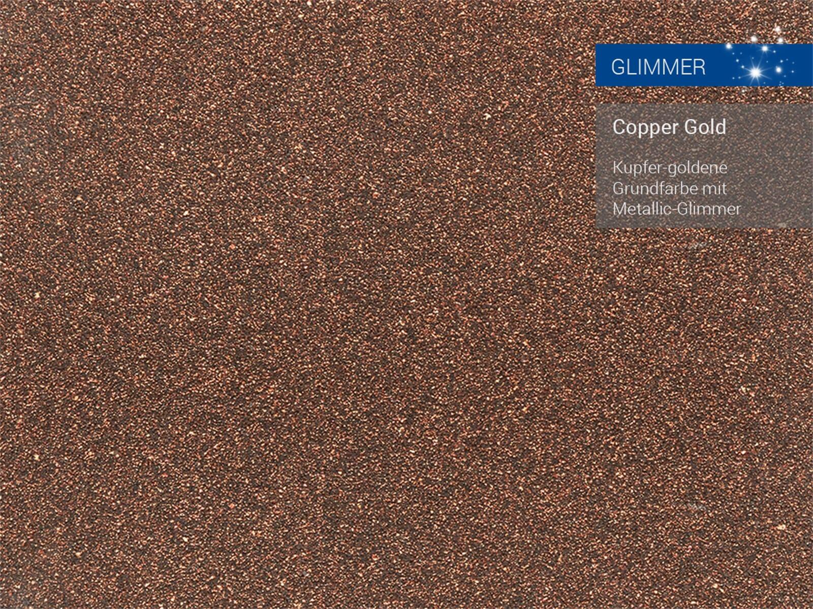 Franke Kubus 2 KNG 110-52 Copper Gold - 11963 Granitspüle Exzenterbetätigung