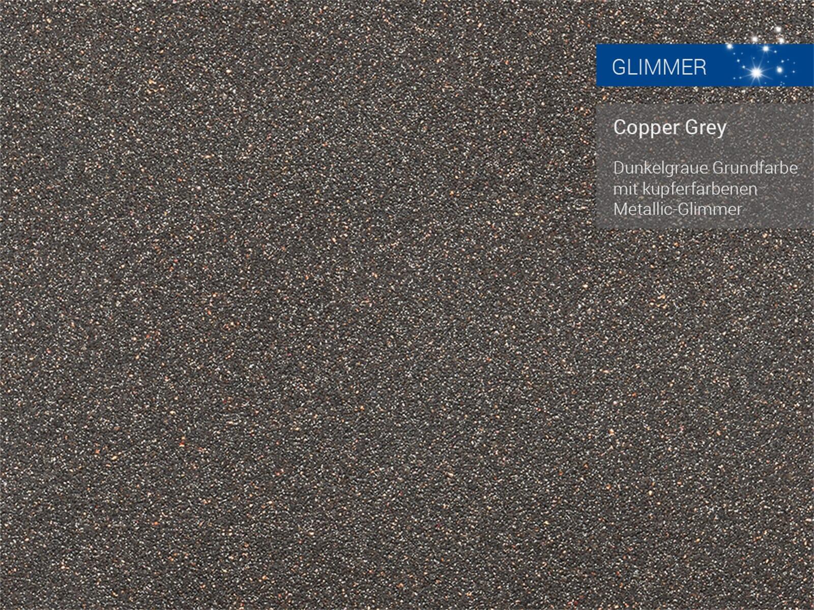 Franke Kubus 2 KNG 110-52 Copper Grey - 11967 Granitspüle Exzenterbetätigung