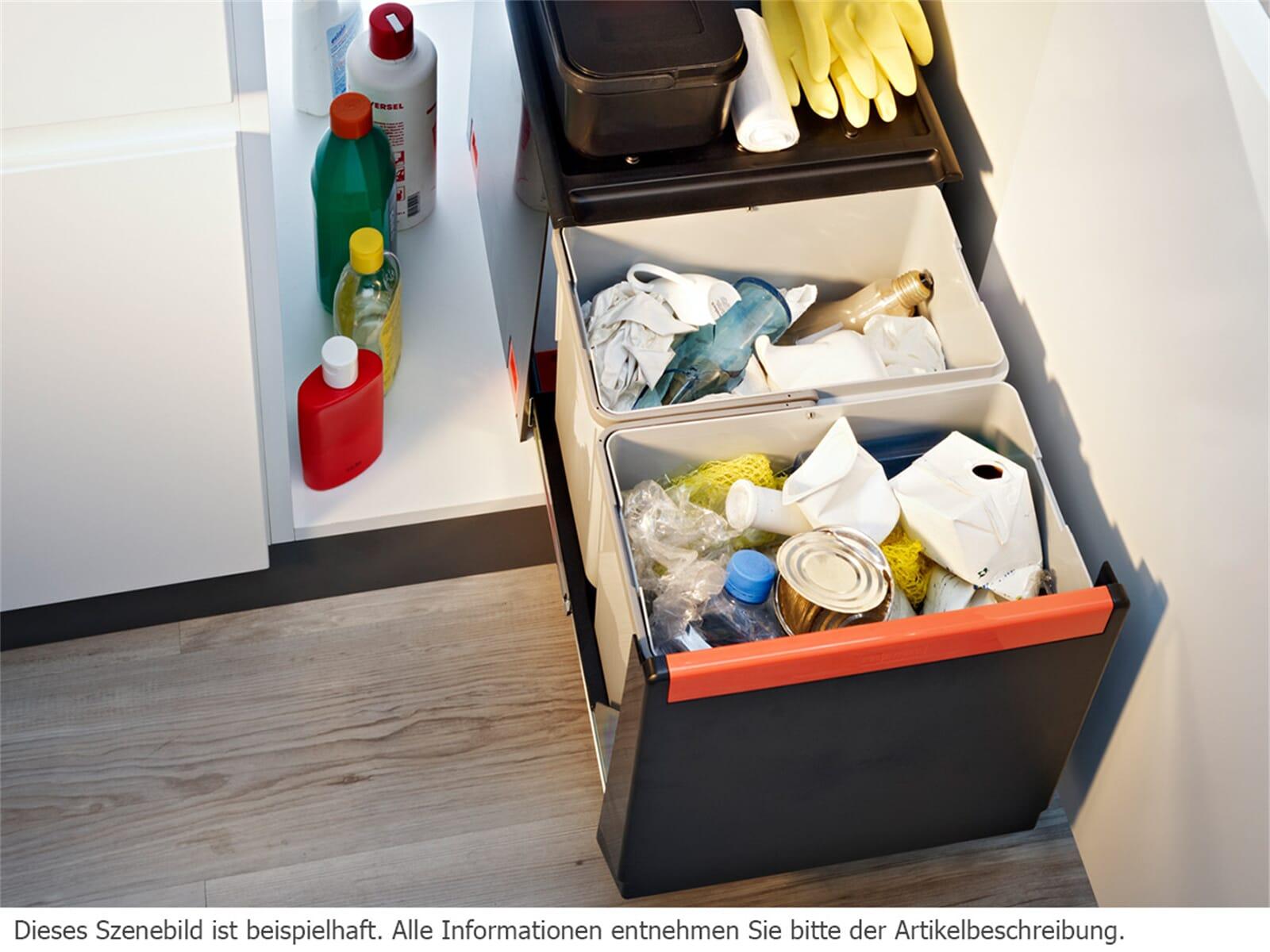 Franke Sorter Cube 41 - 134.0055.270 Einbau Abfallsammler