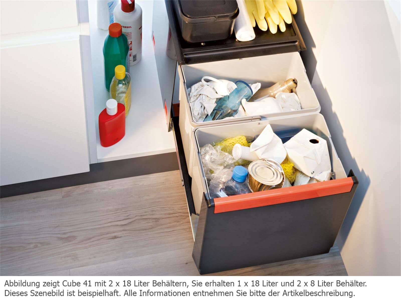Franke Sorter Cube 41 - 134.0055.271 Einbau Abfallsammler