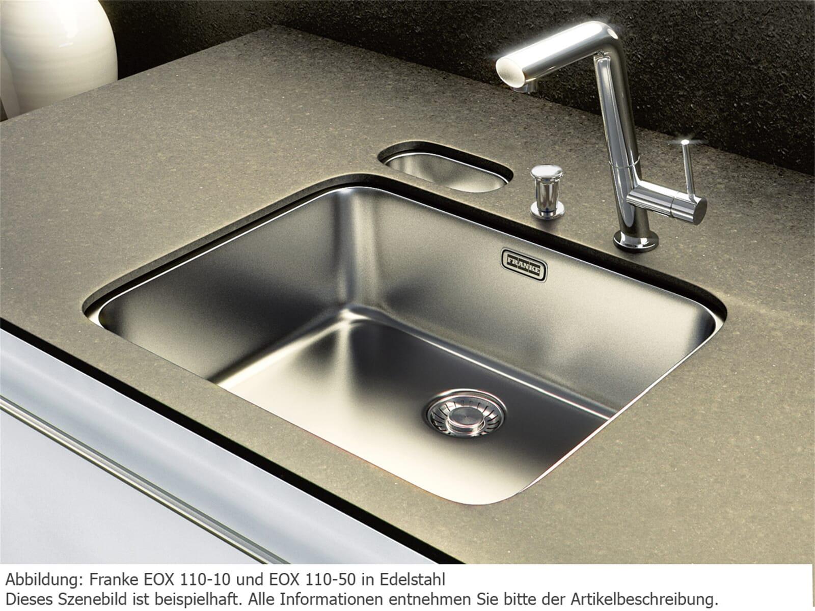 Franke Epos EOX 110-50 Edelstahlspüle glatt - 122.0197.980